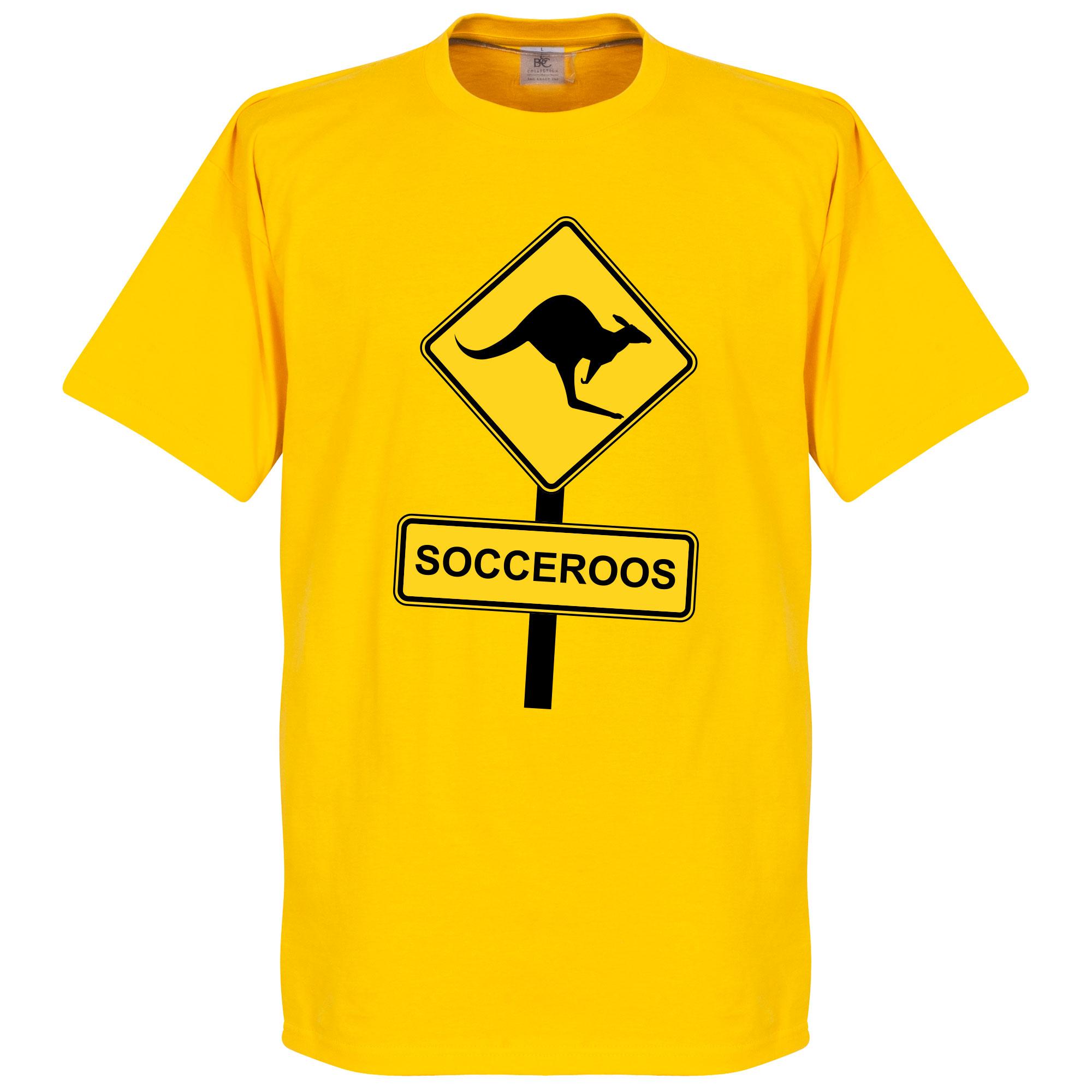 Socceroos Roadsign T-shirt