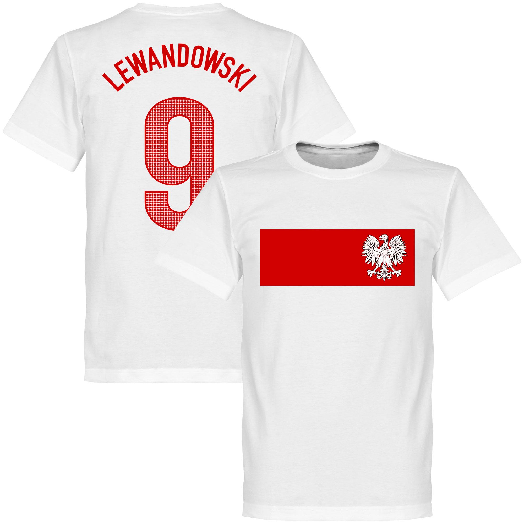 Poland Lewandowski Banner Tee - XL