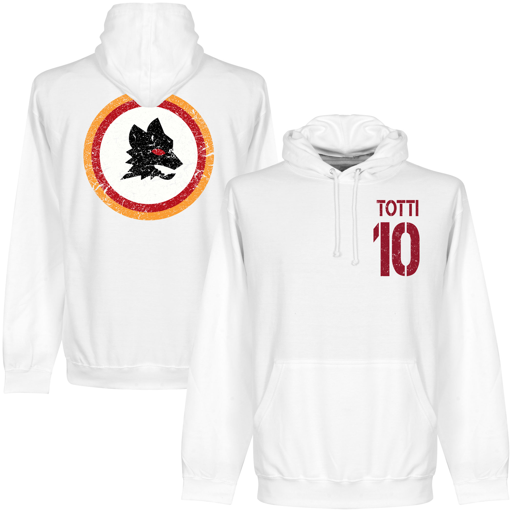 AS Roma Totti 10 Hooded Sweater