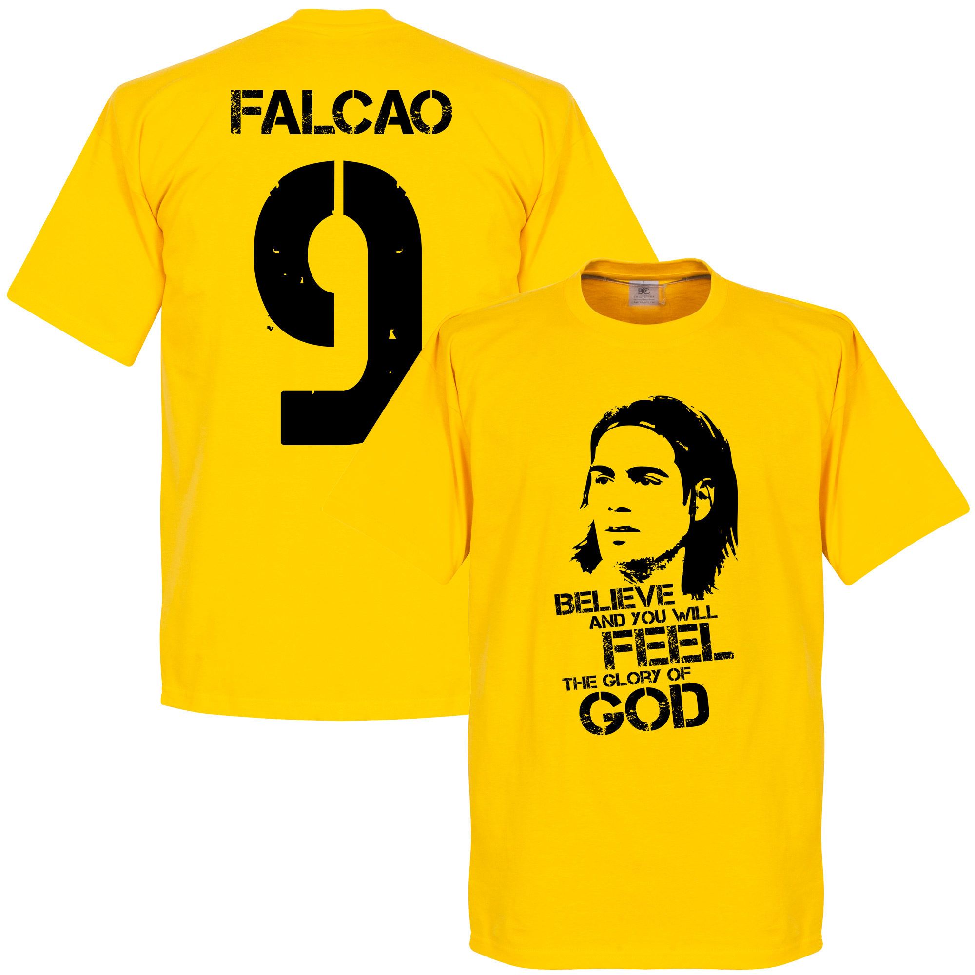 Colombia Falcao Kids Tee - Yellow - 10