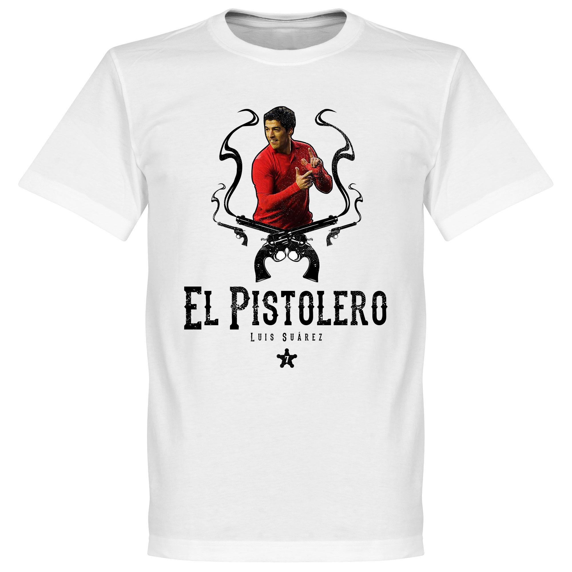 El Pistolero Luis Suarez Liverpool T-Shirt - Junior/Jongens