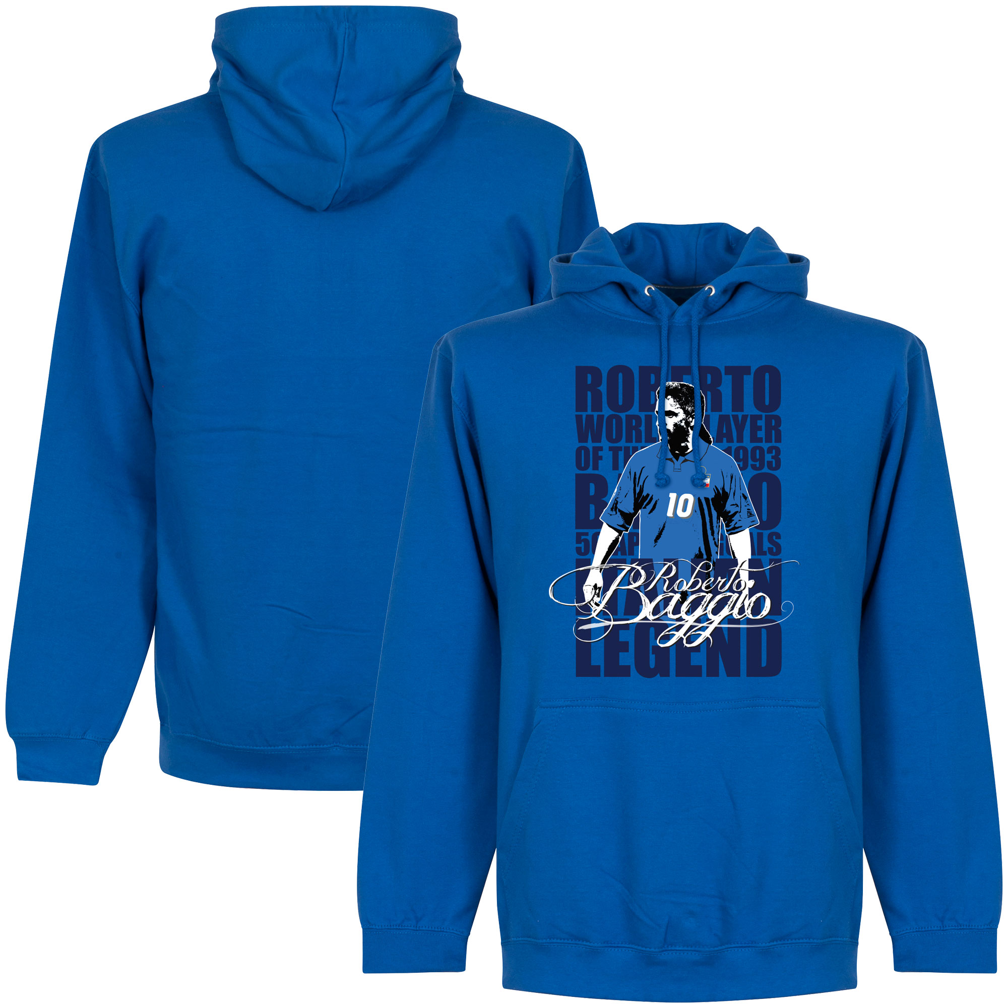 Roberto Baggio Legend Hooded Sweater