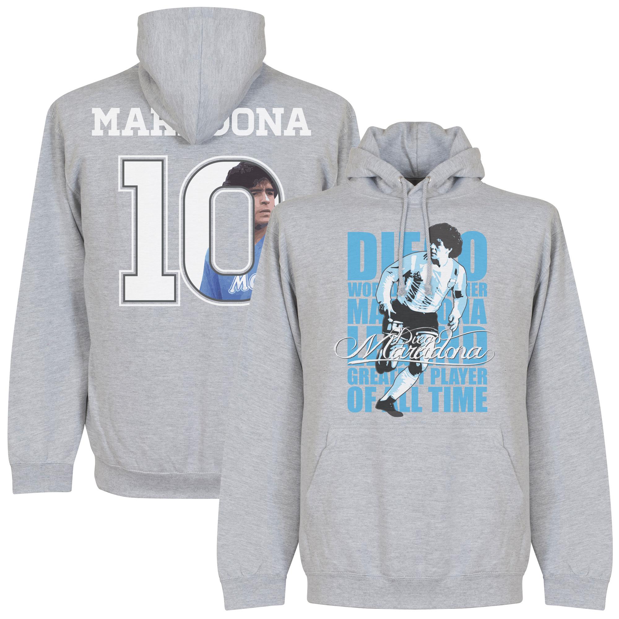 Maradona 10 Gallery Hooded Sweater