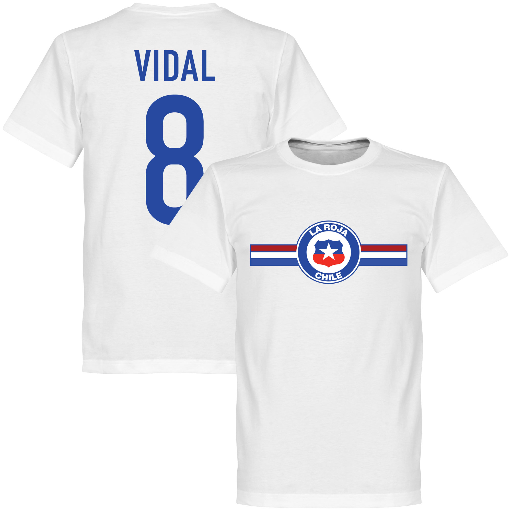 Chile Vidal Tee - White - XXL