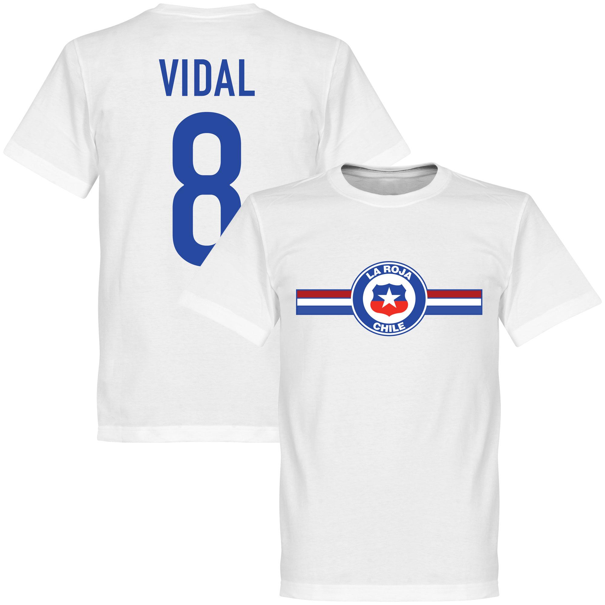 Chile Vidal Tee - White - M