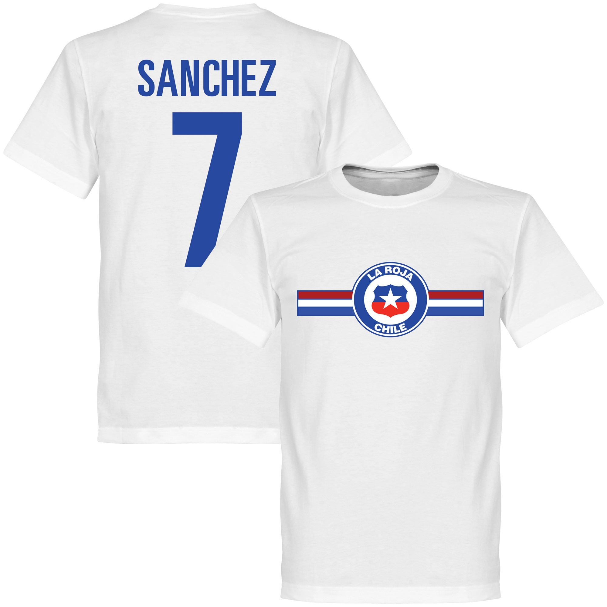 Chile Sanchez Tee - White - S