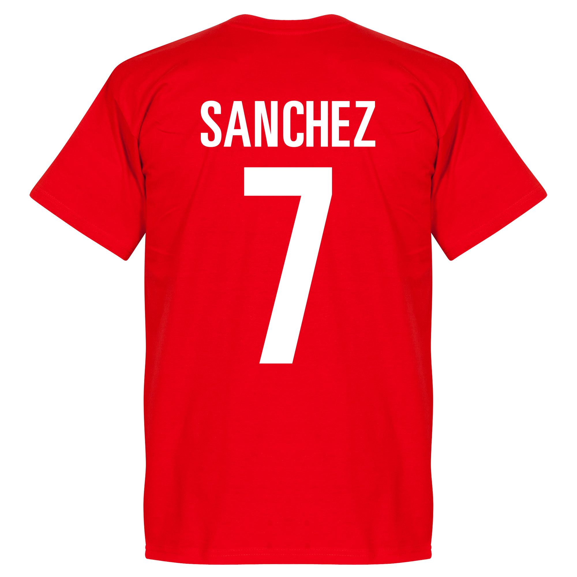 Chile Sanchez Tee - Red - L