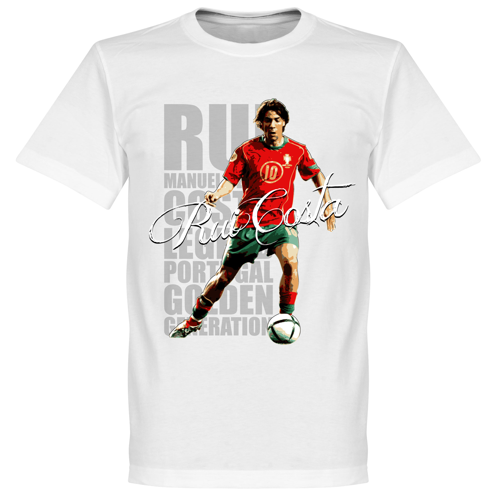 Rui Costa Legend Tee - White - L