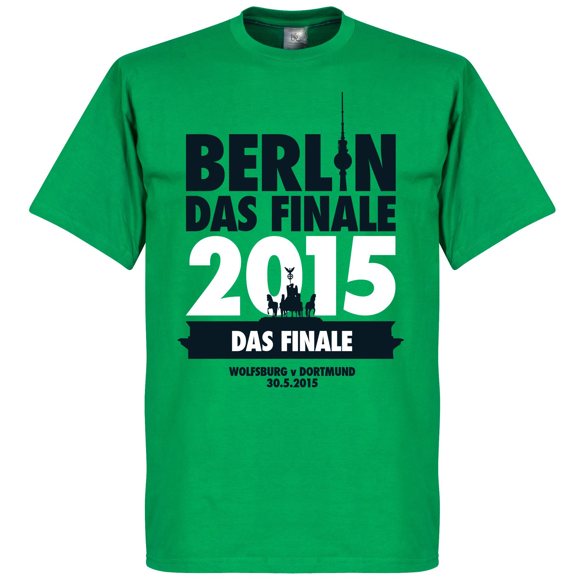DFB Cup Final Berlin 2015 Tee - Wolfsburg - XXL