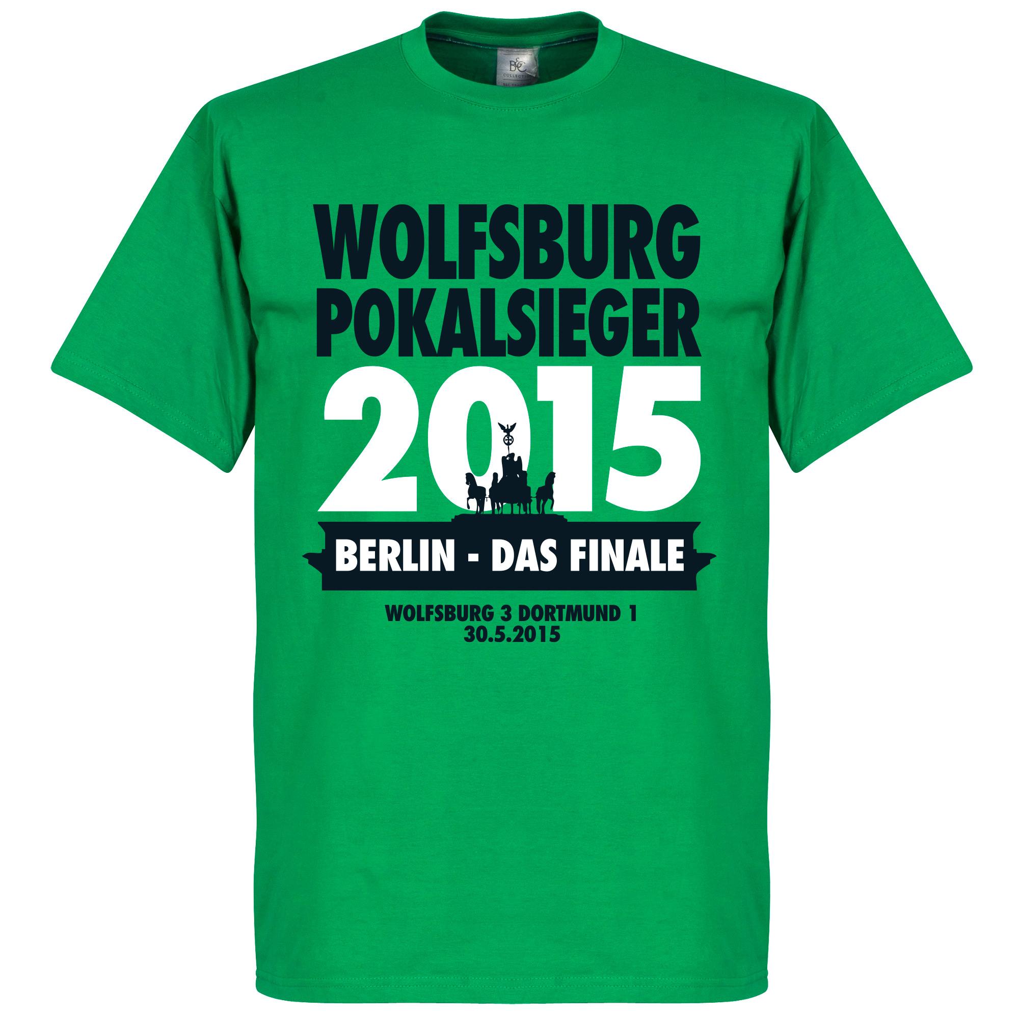 German Cup Final Winners Tee - Wolfsburg - S