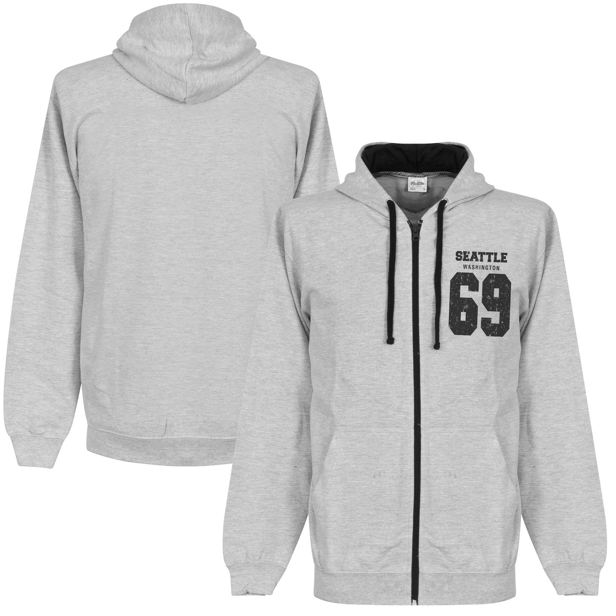 Seattle '69 Full Zip Hooded Sweater