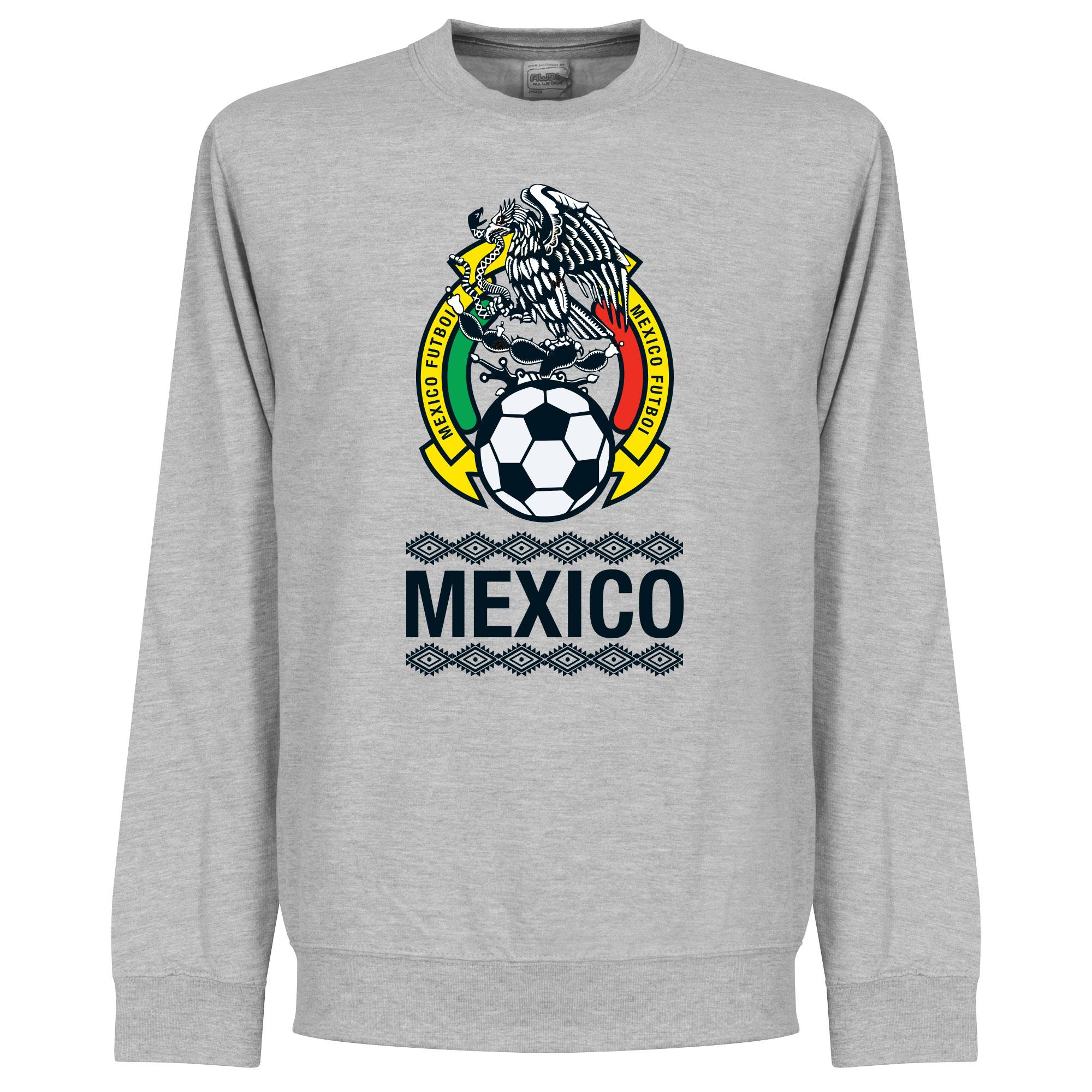 Mexico Crest Sweatshirt - Grey - XXXL