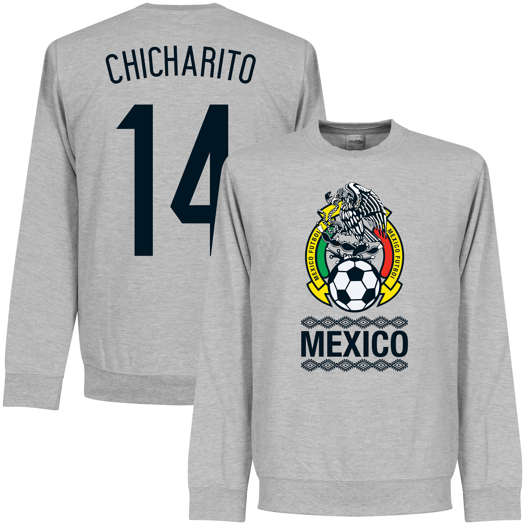 Mexico Chicharito Sweatshirt - Grey - L