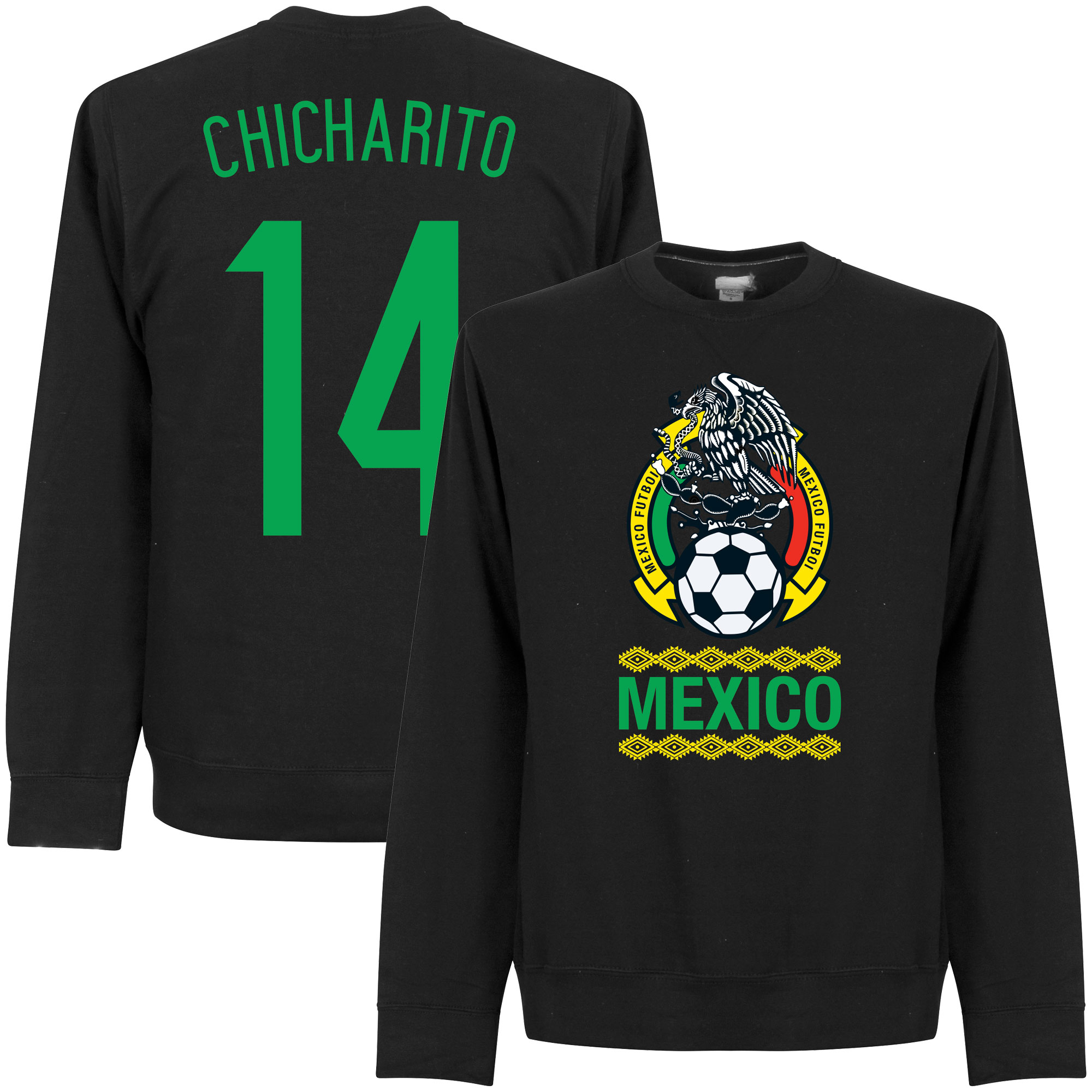 Mexico Chicharito Sweatshirt - Black - S