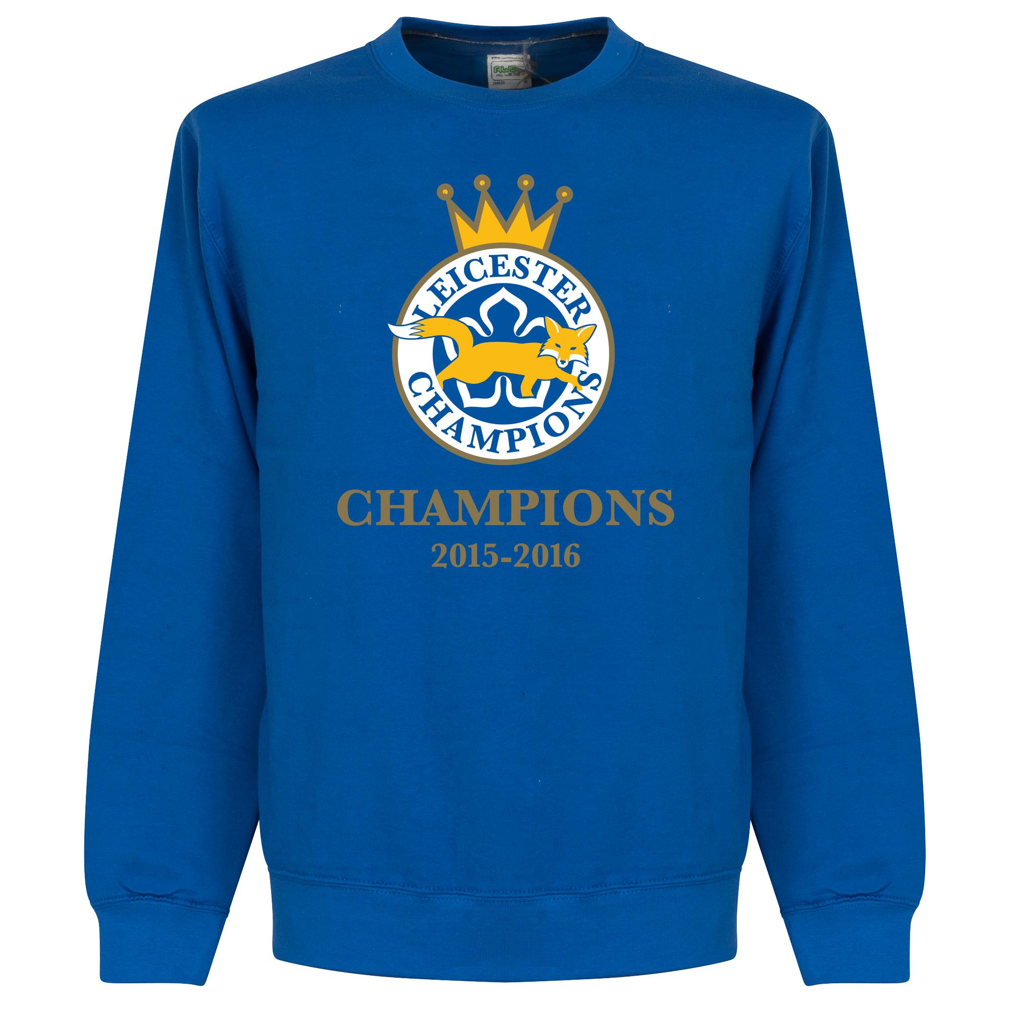 Leicester Winners Sweatshirt - Royal - XXL