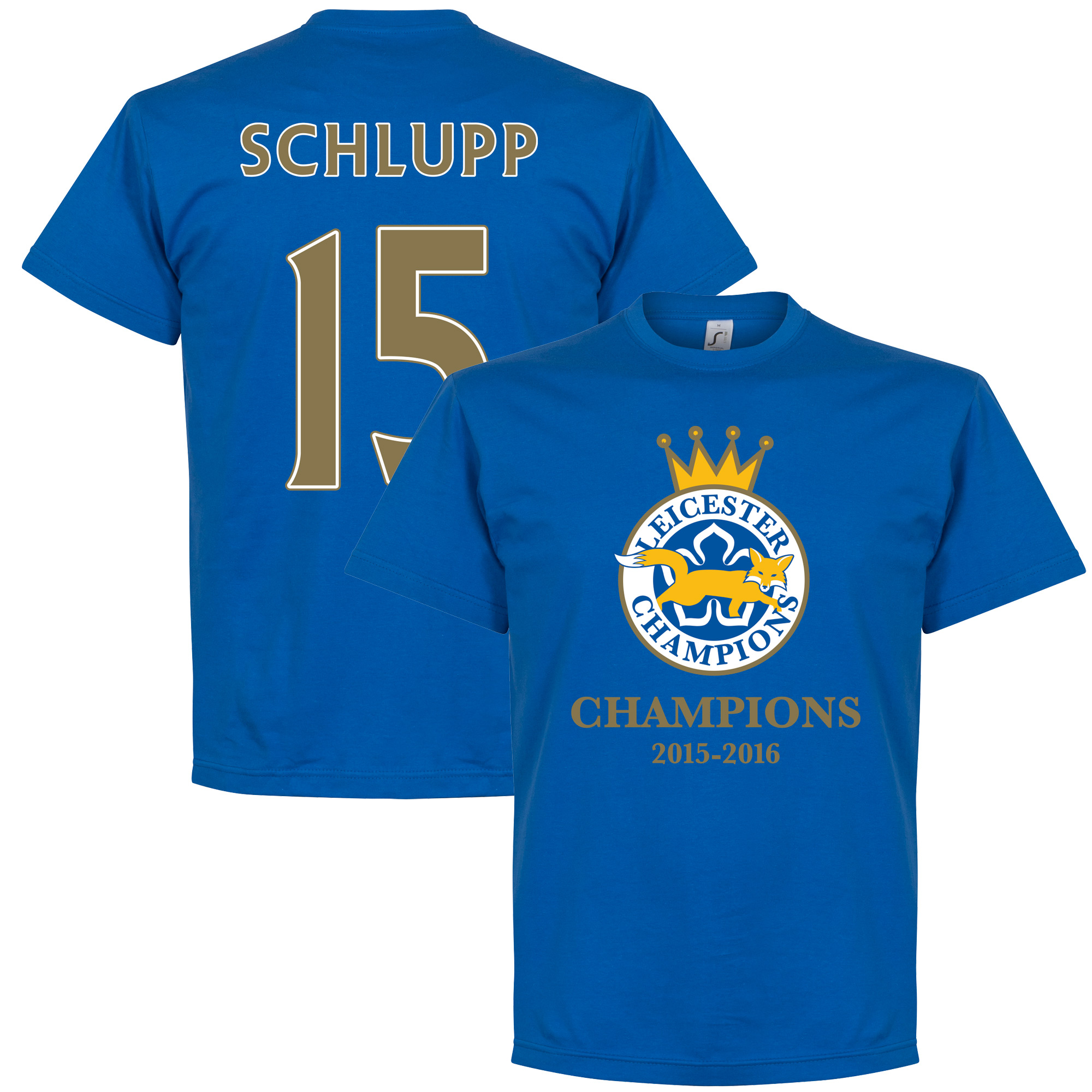 Leicester Champions Schlupp Tee - Royal - L