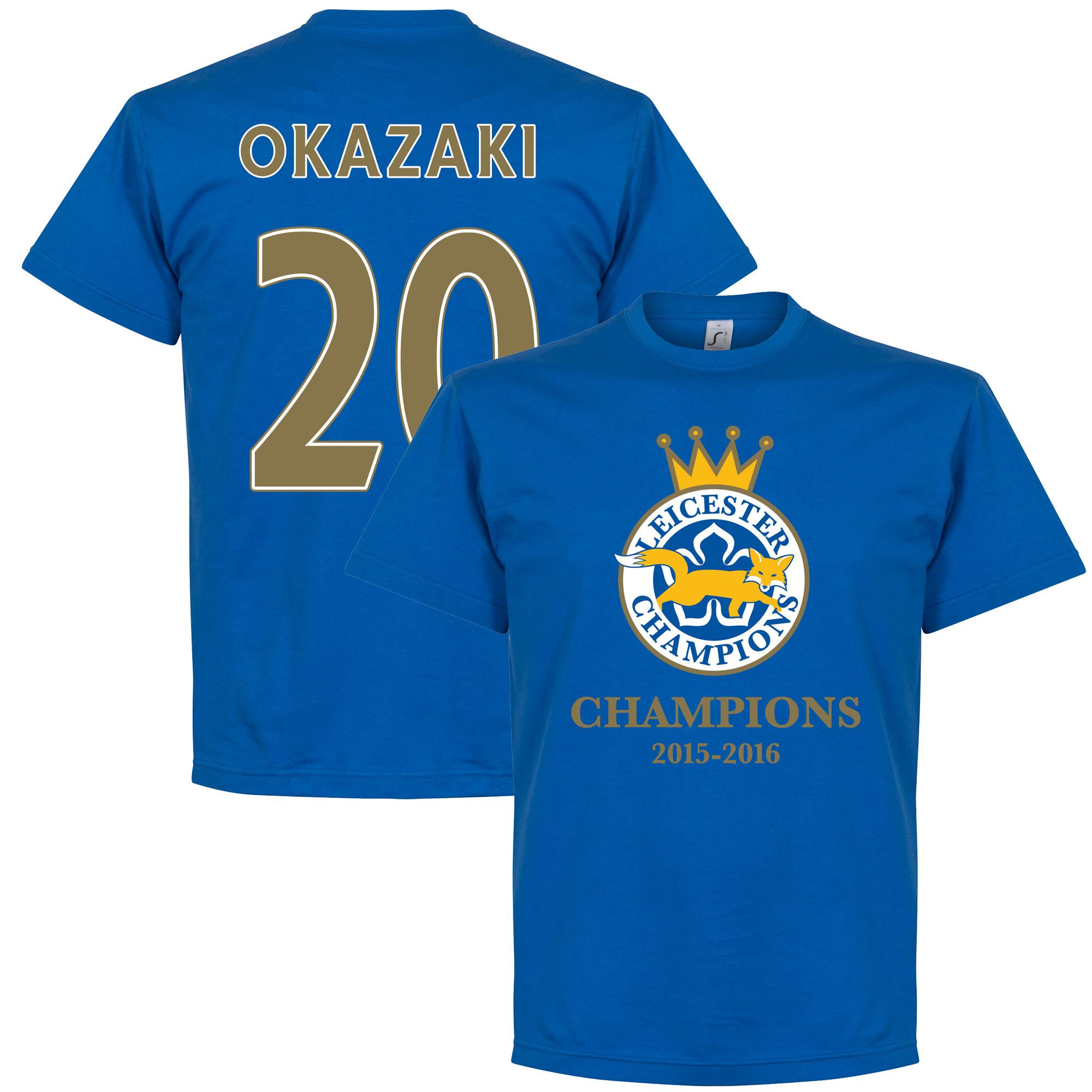 Leicester Champions Okazaki Tee - Royal - L