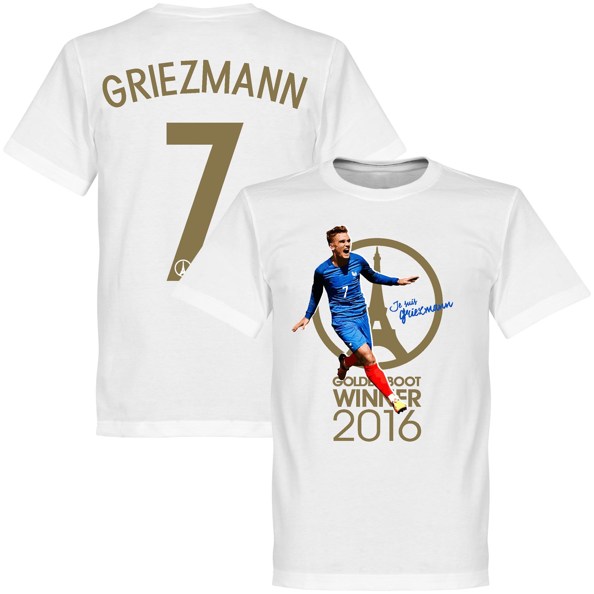 Je Suis Griezmann France 2016 Golden Boot Winner KIDS Tee - White - 2