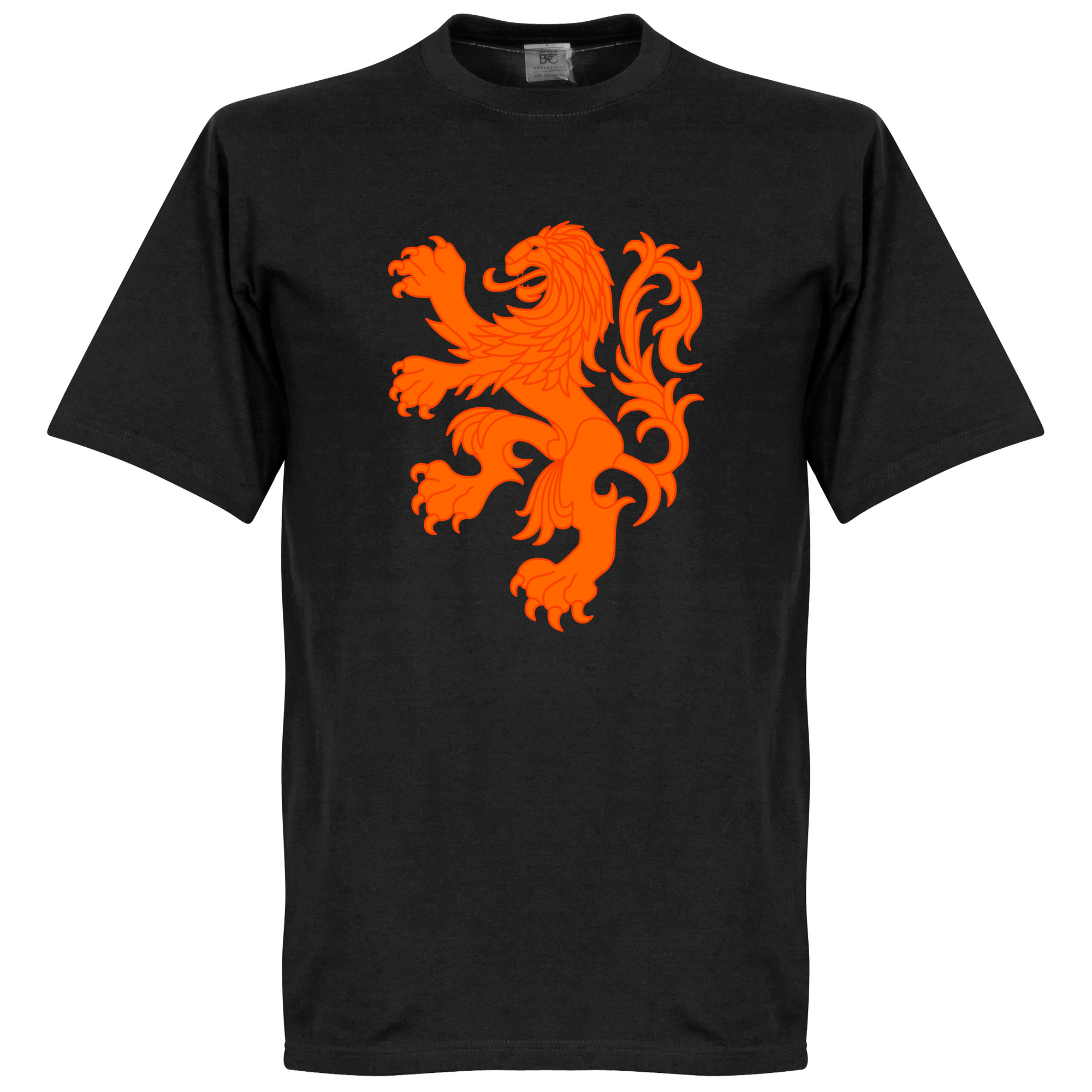 Holland Lion Tee - Black - S