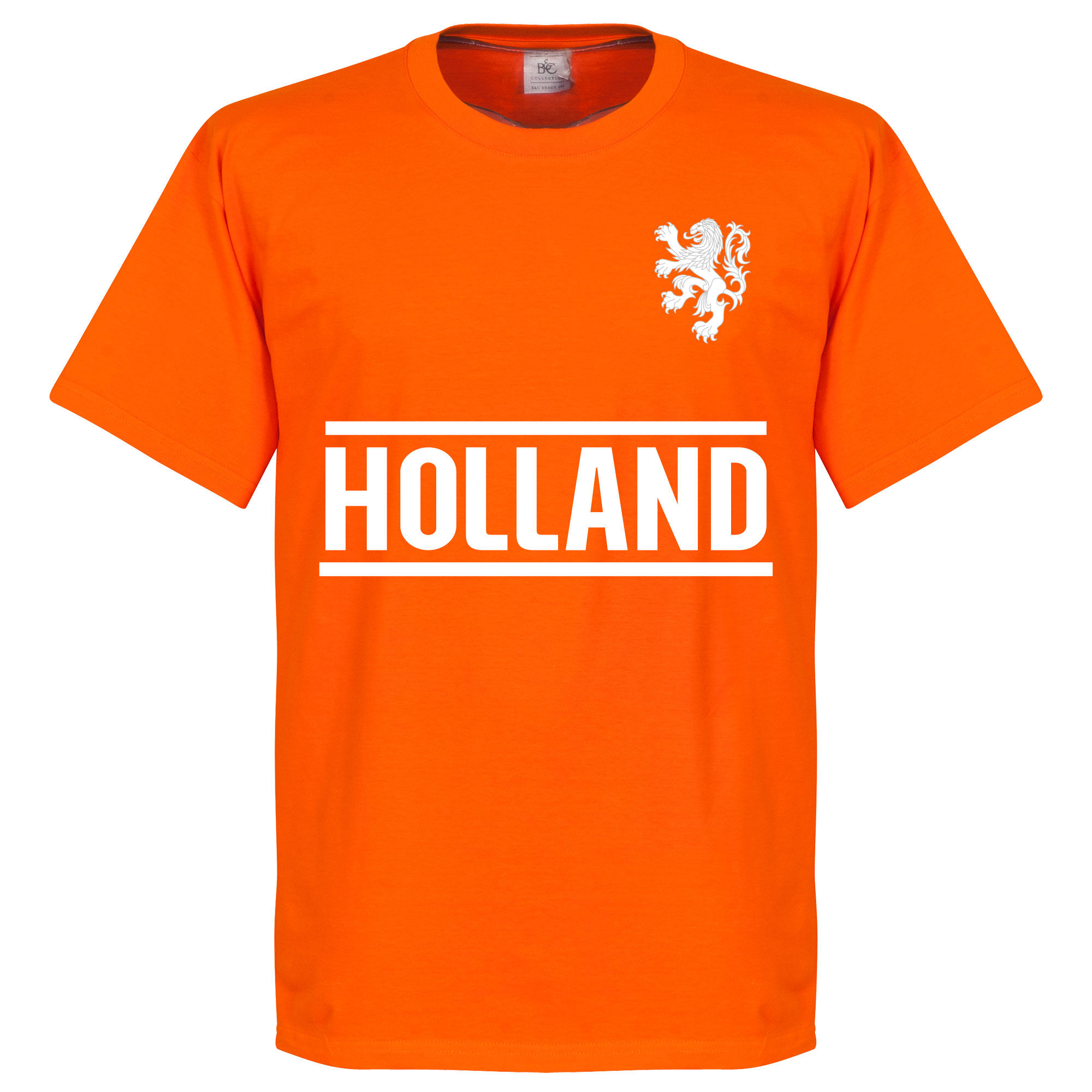 Holland Team Tee - Orange - XL