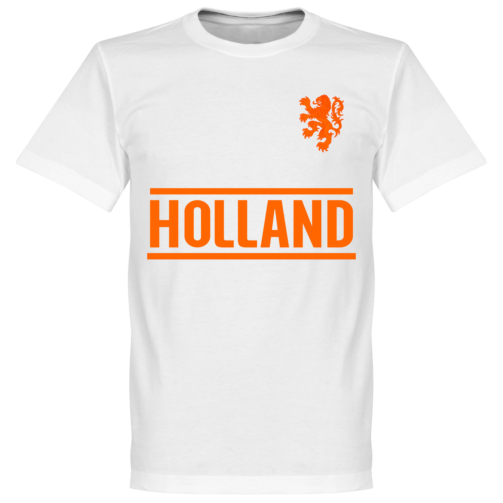 Holland Team Tee - White - XXXL