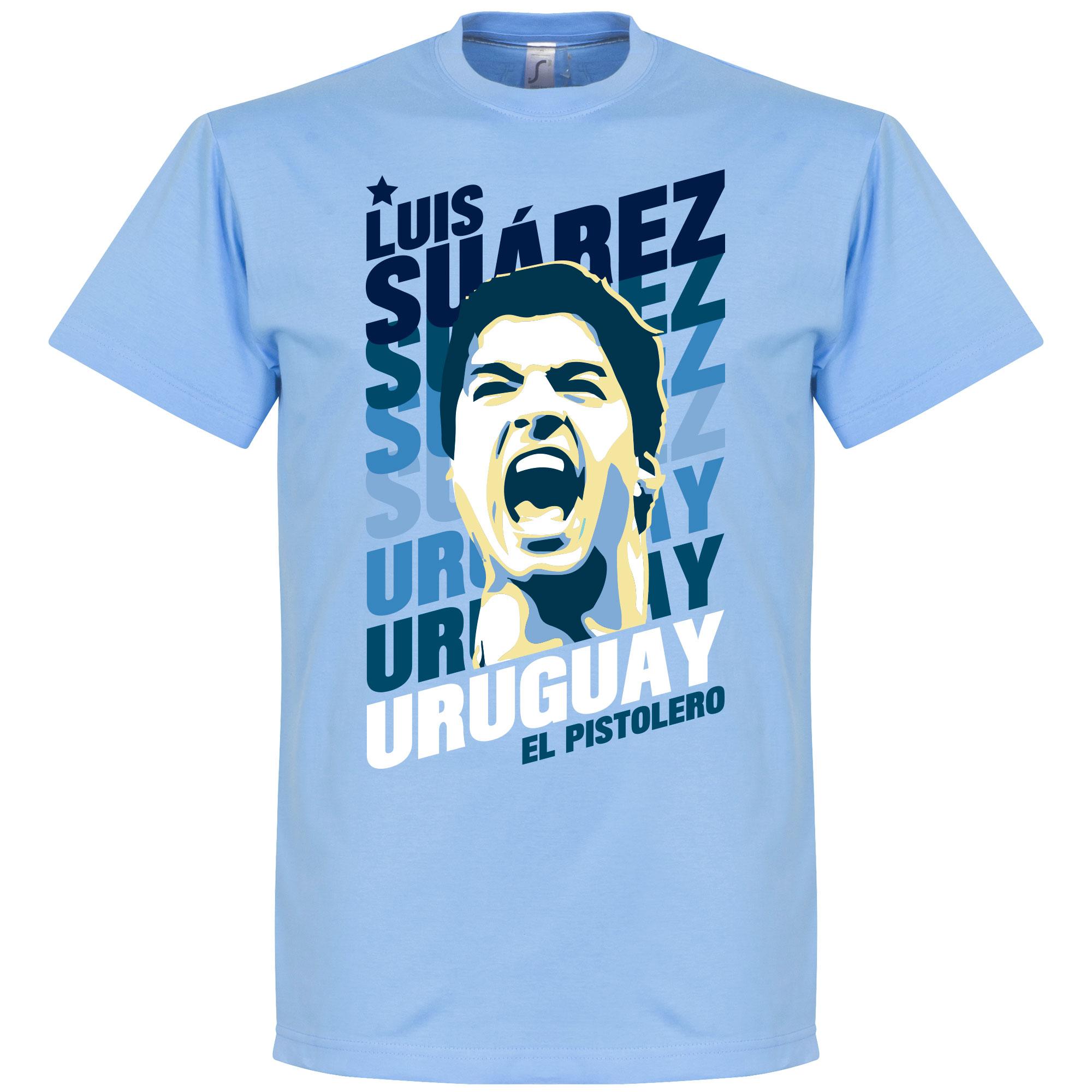 Luis Suarez Uruguay Portrait T-Shirt