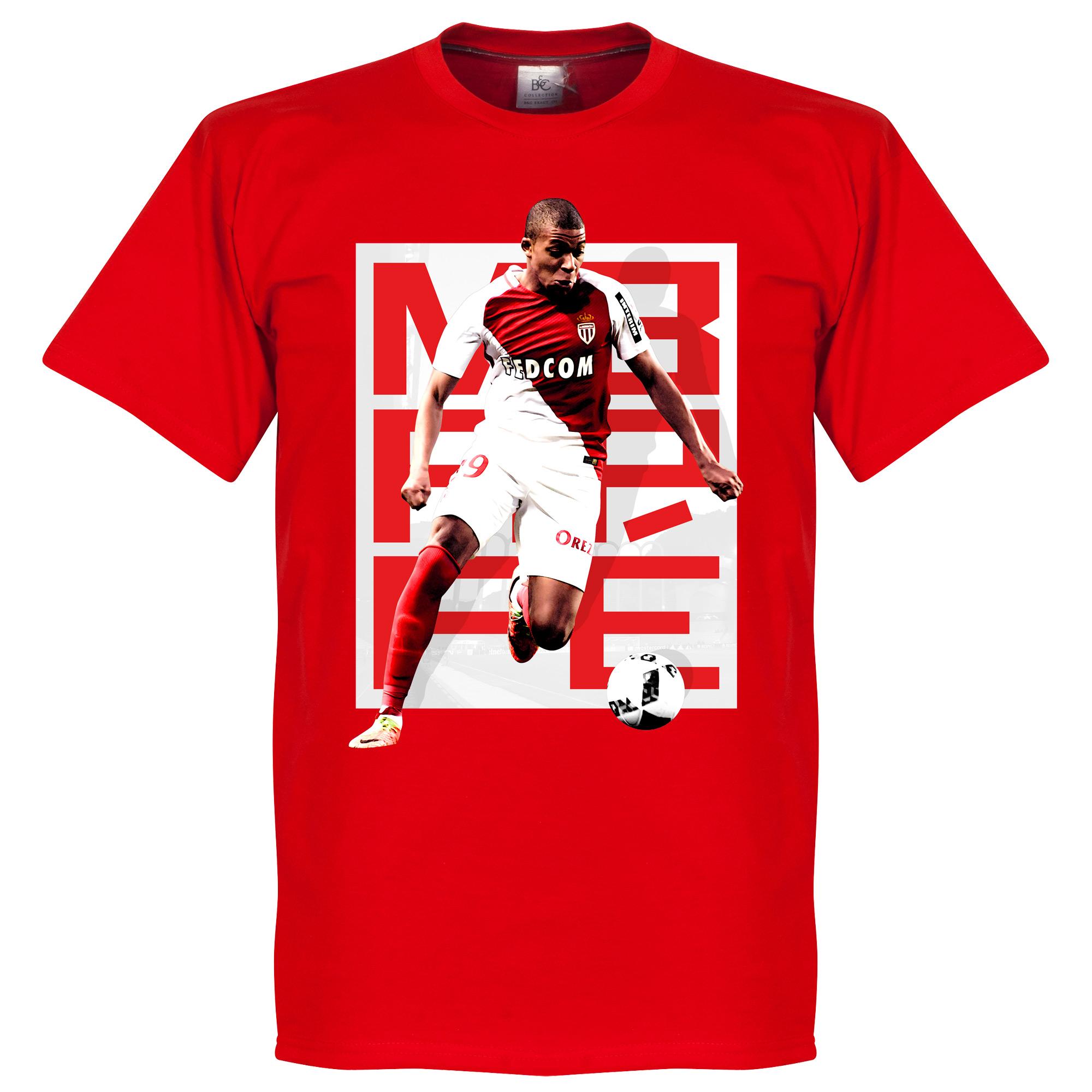 Mbappe Monaco Tee - Red - XXL