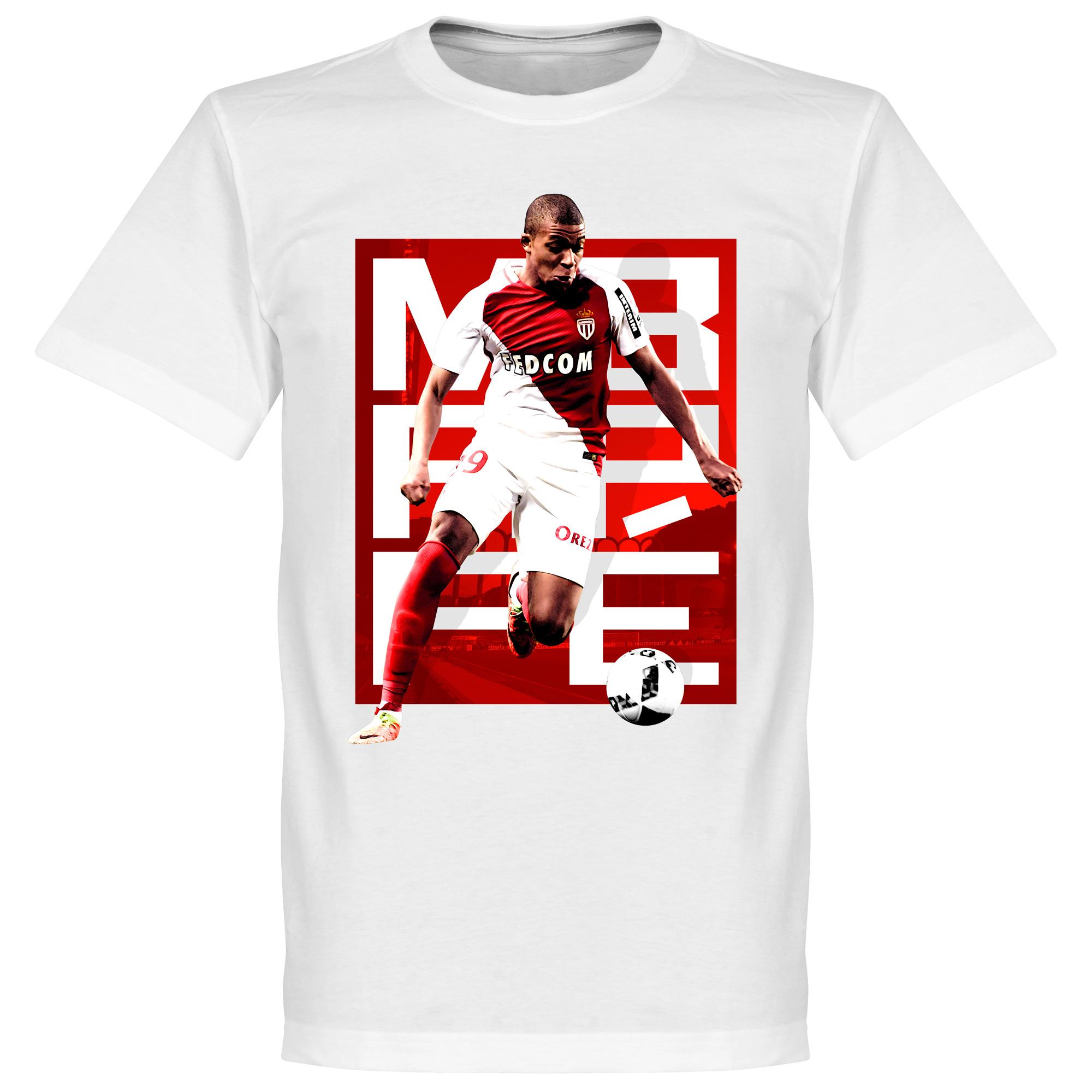 Mbappe Monaco Tee - White - XXXXXL