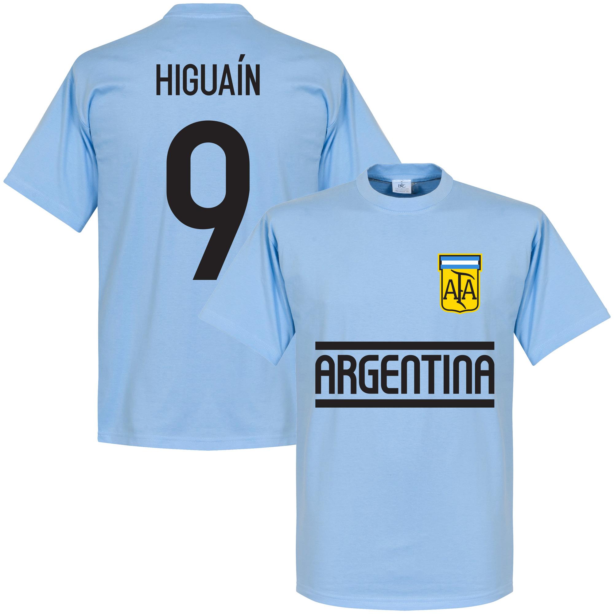 Argentina Higuain Team Tee - Sky - XS