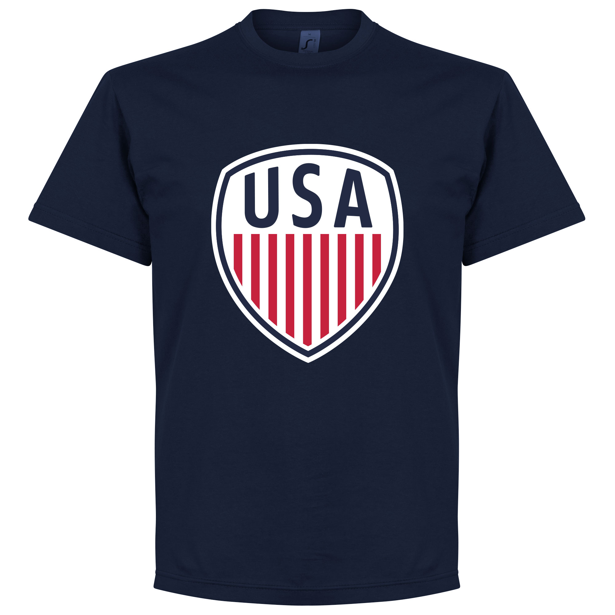 USA Crest Tee - Navy - XXL