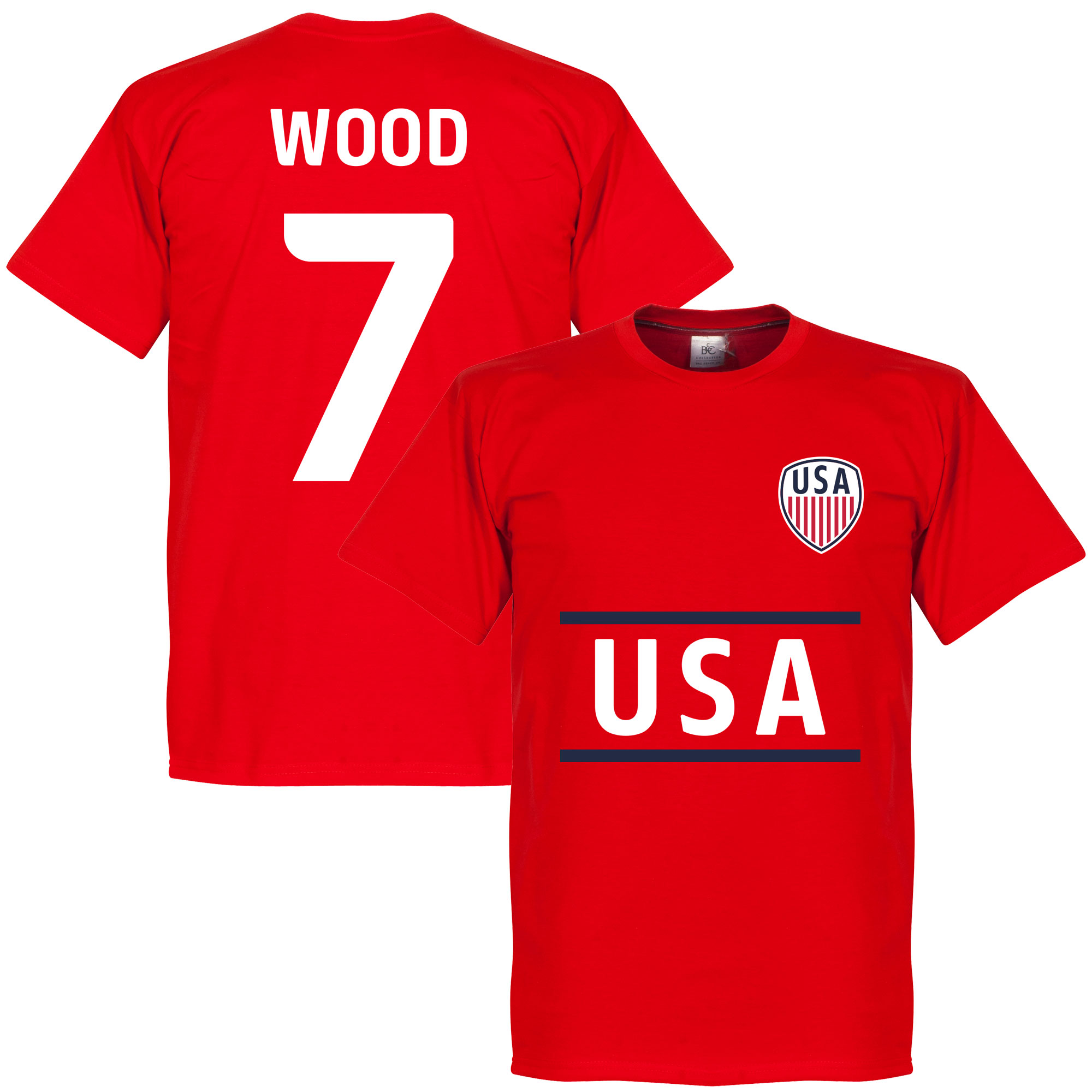 Verenigde Staten Wood 7 Team T-Shirt