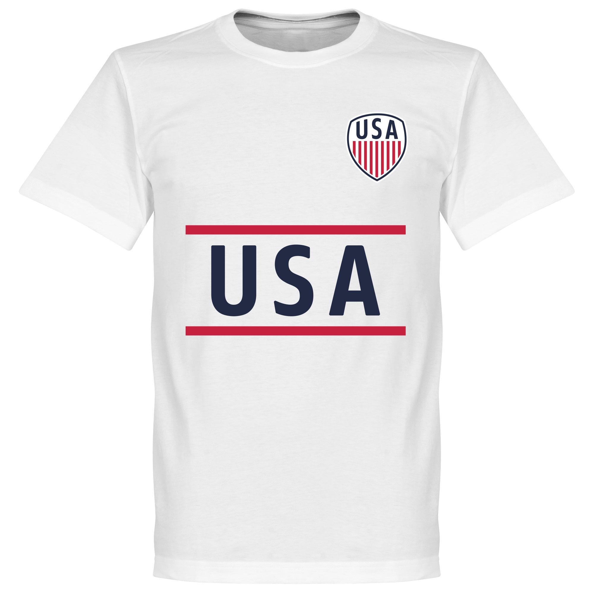 USA Team Tee - White - XL