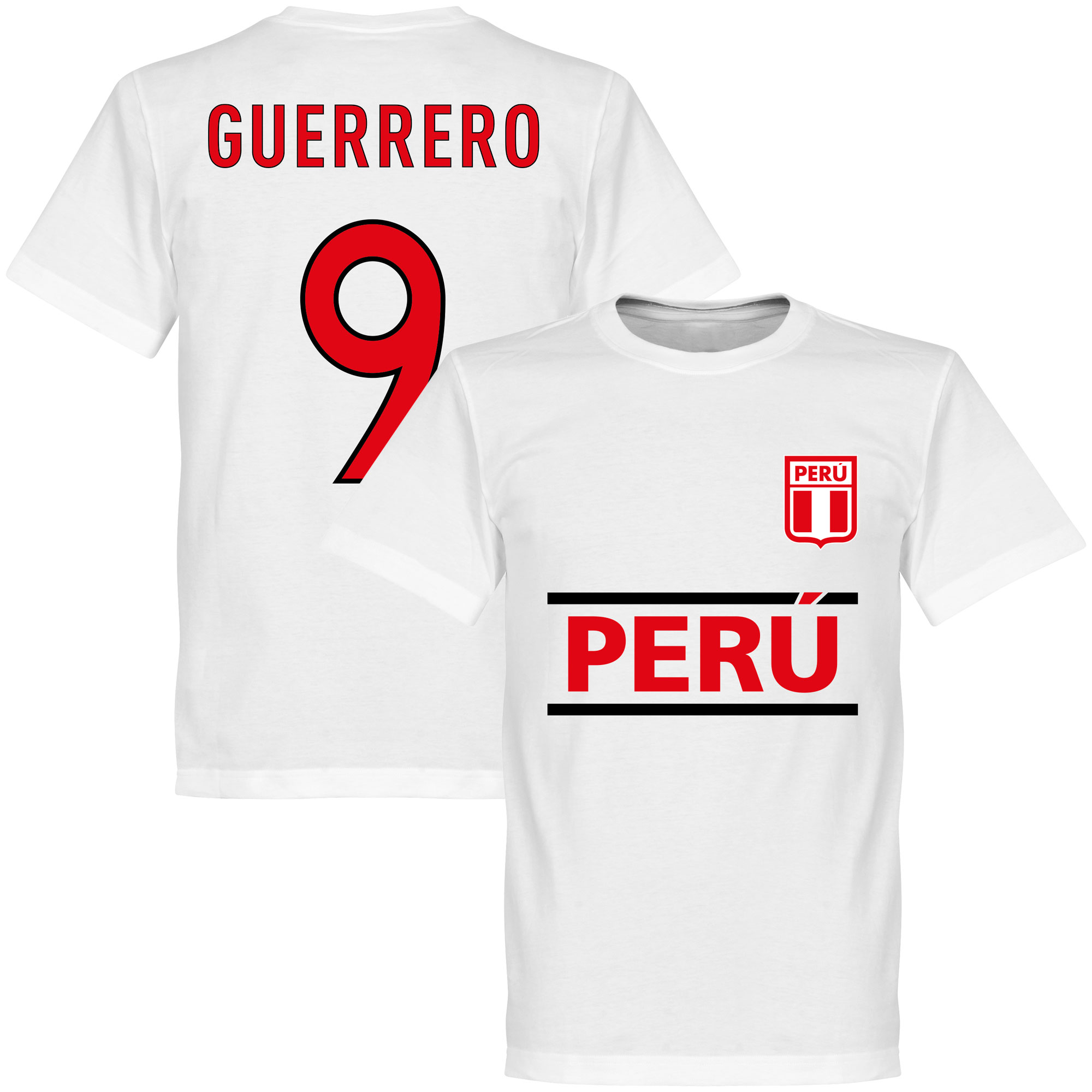 Peru Guerrero 9 Team T-Shirt
