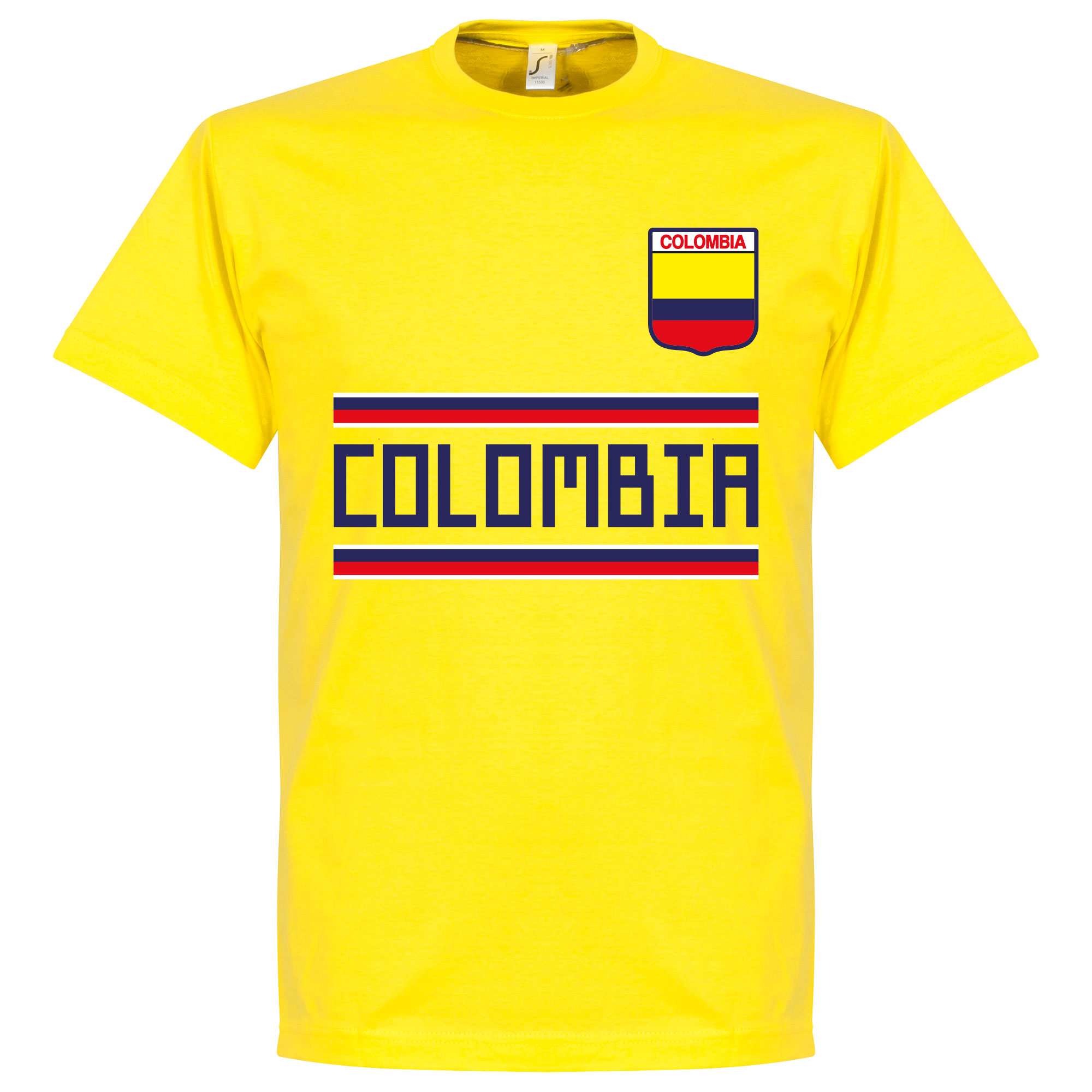 Colombia Team Tee - Yellow - XXL