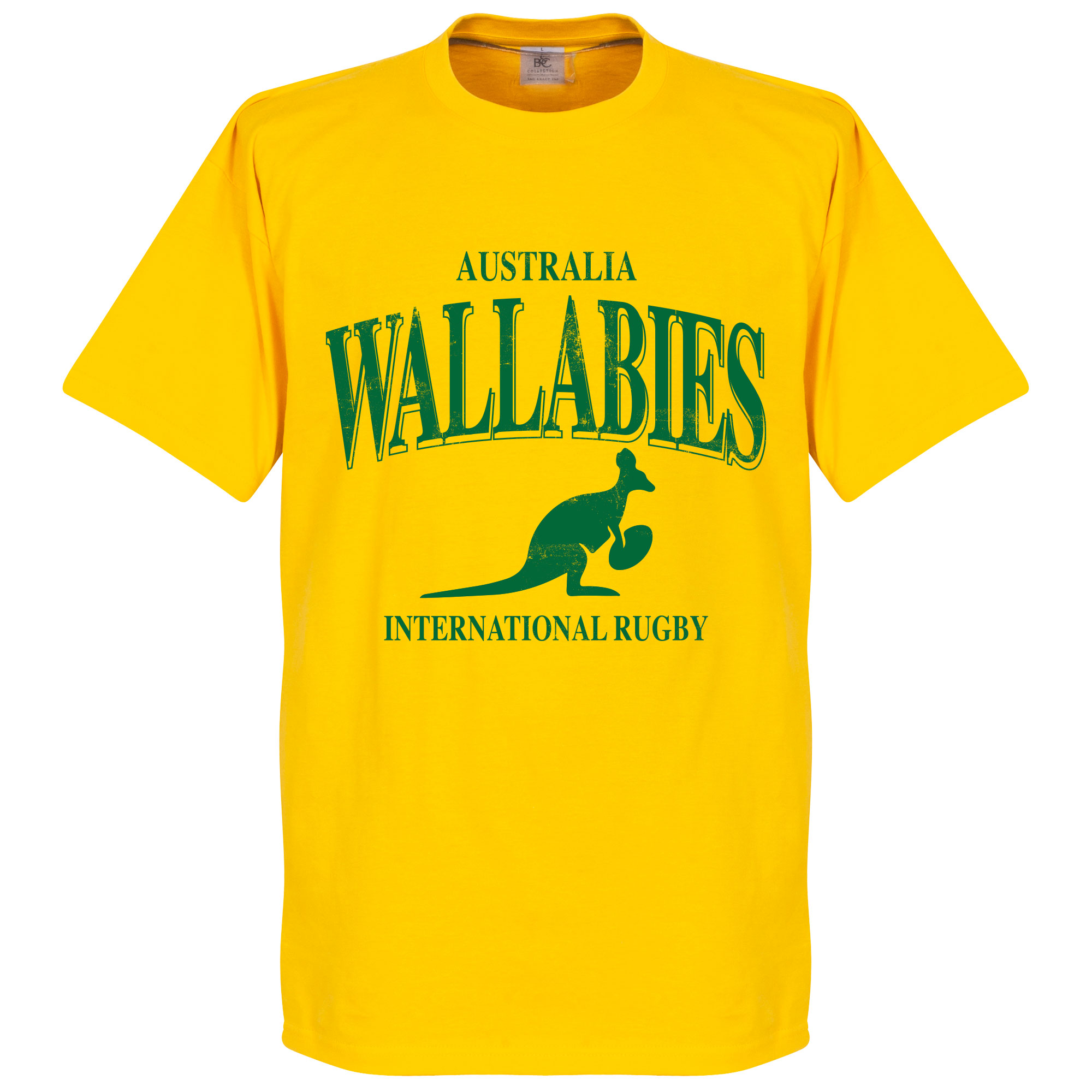 Australië Wallabies Rugby T-shirt - Geel