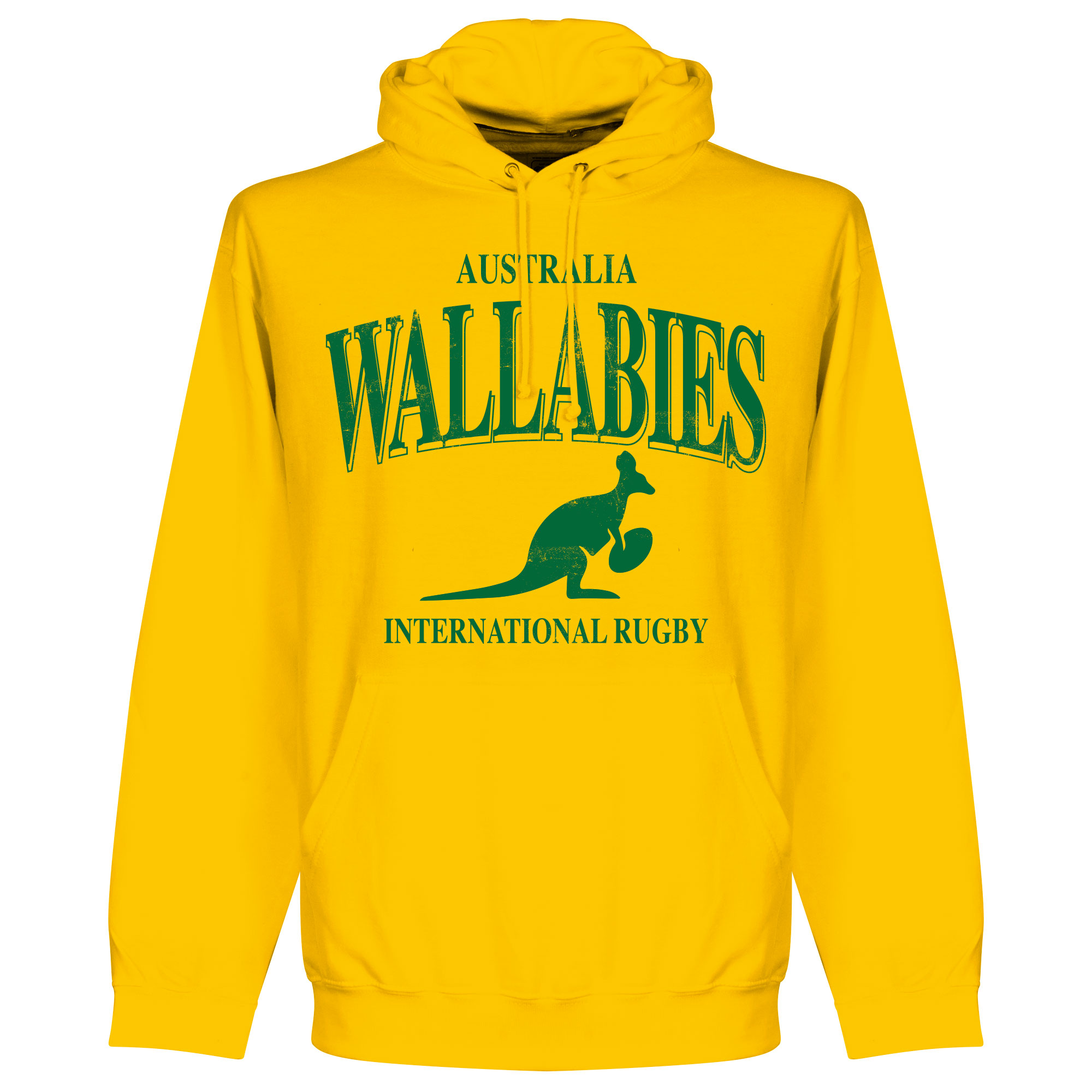 Australië Wallabies Rugby Hooded Sweater - Geel