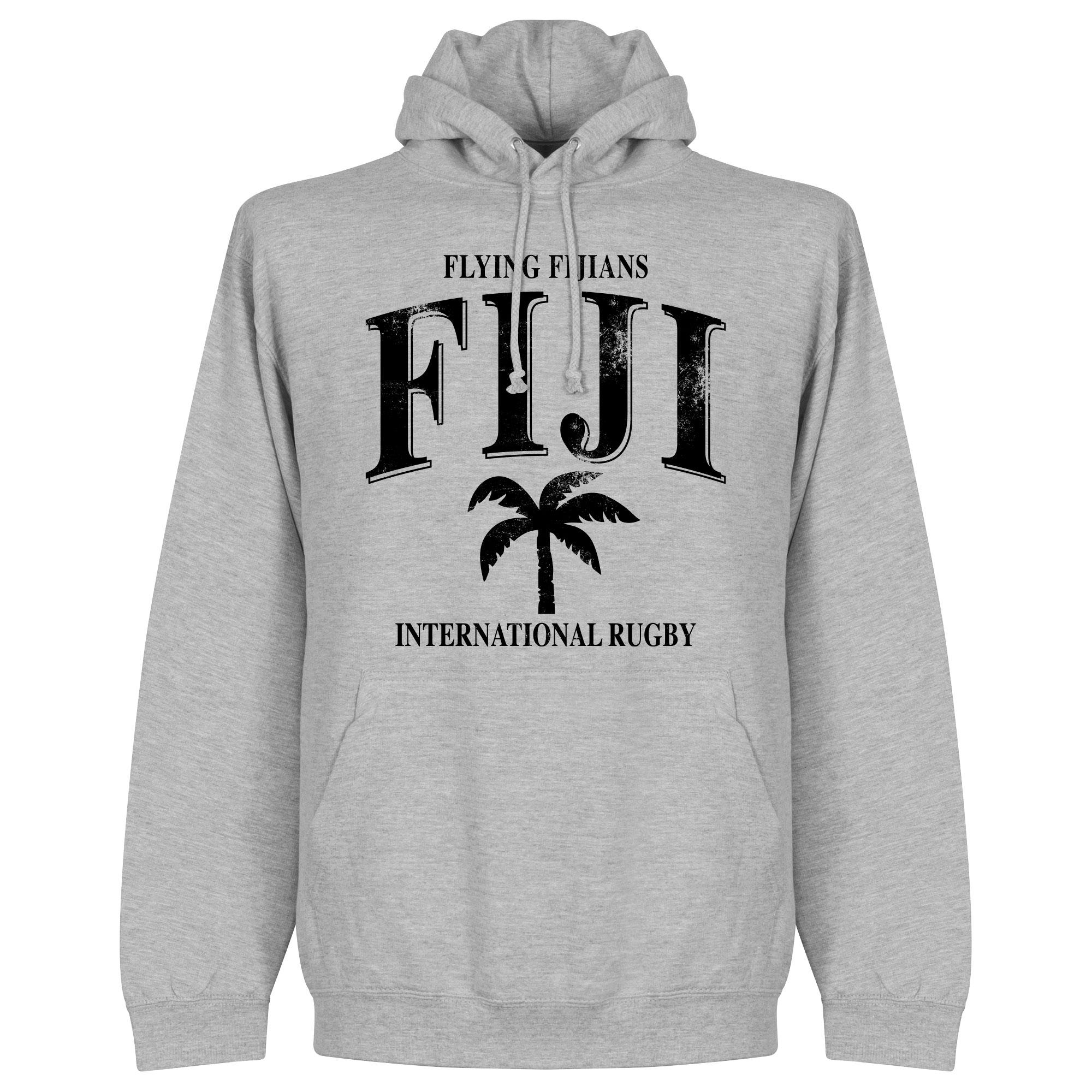 Fiji Rugby Hoodie - Grijs