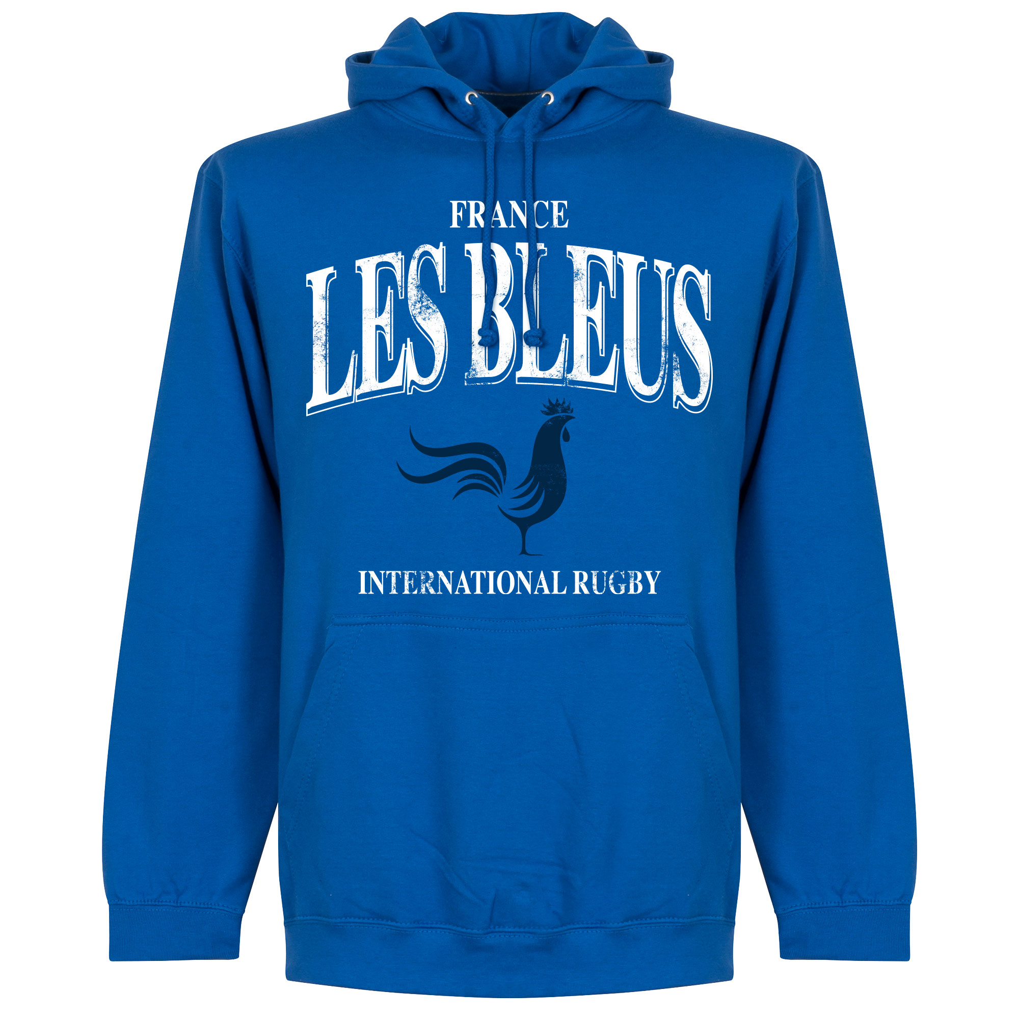 Frankrijk Les Bleus Rugby Hoodie - Blauw