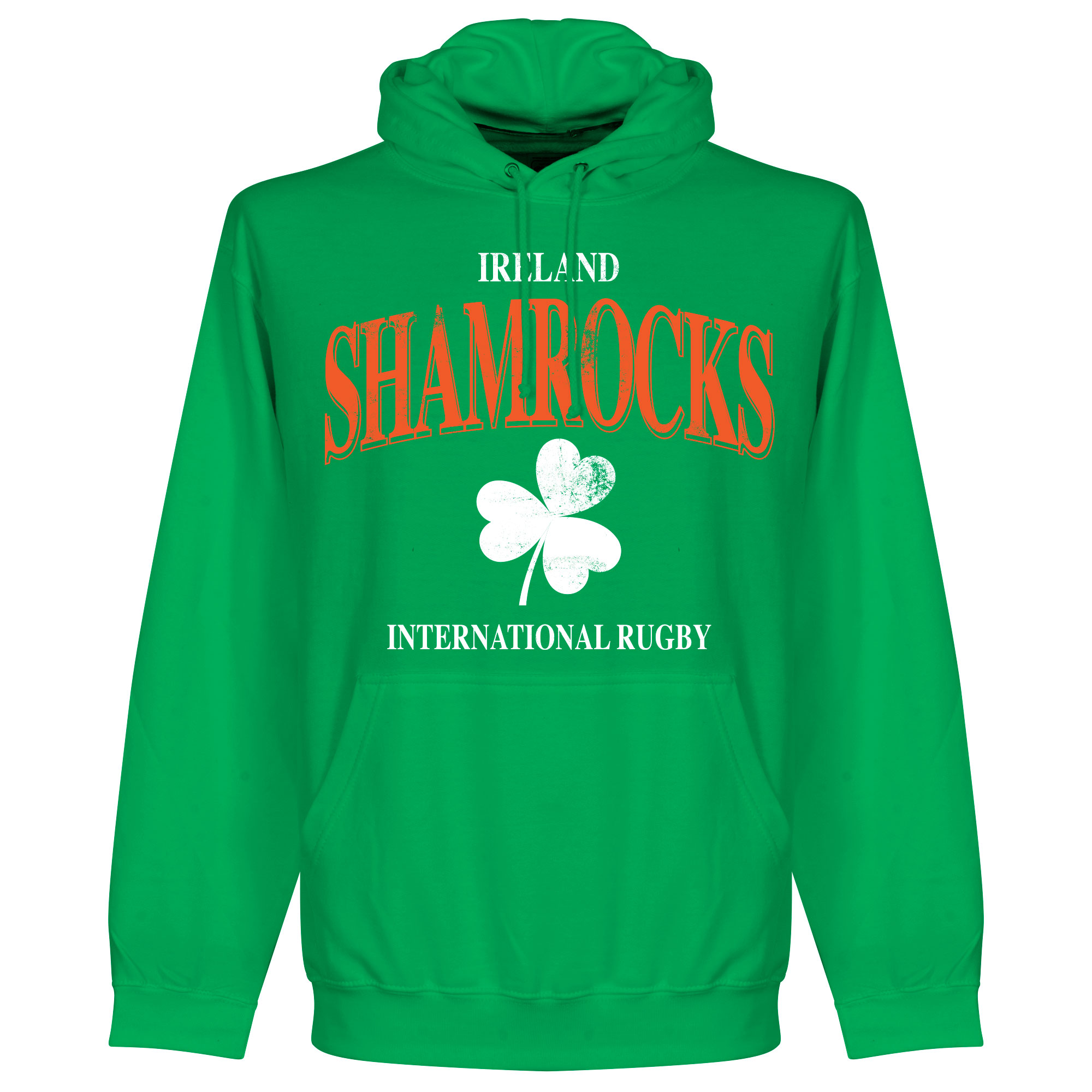 Ierland Rugby Hooded Sweater - Groen