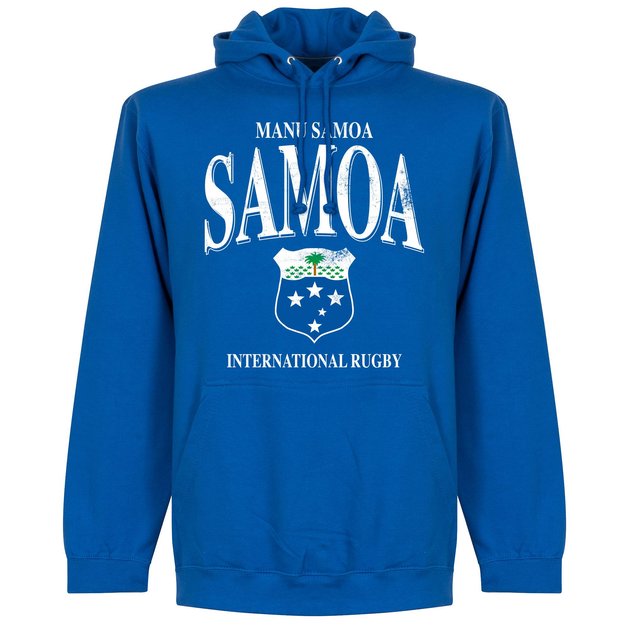 Samoa Rugby Hoodie - Blauw