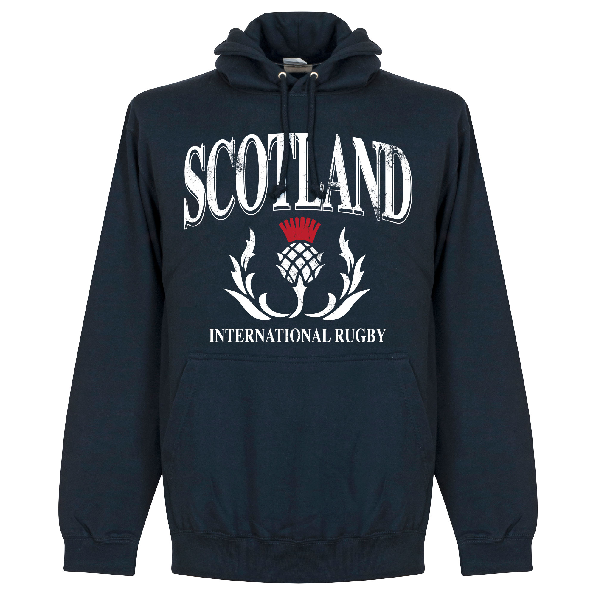 Schotland Rugby Hooded Sweater - Navy