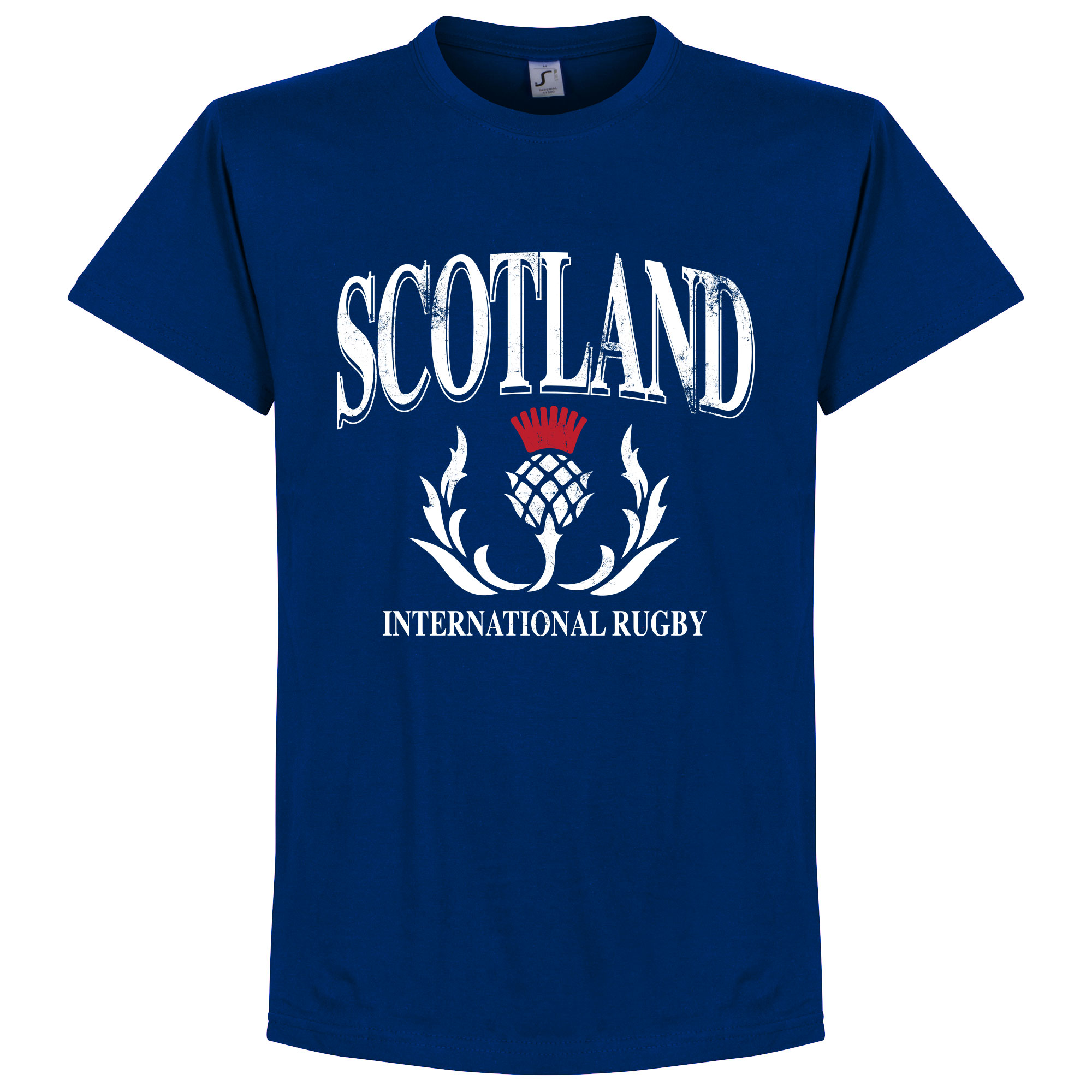 Schotland Rugby T-Shirt - Navy