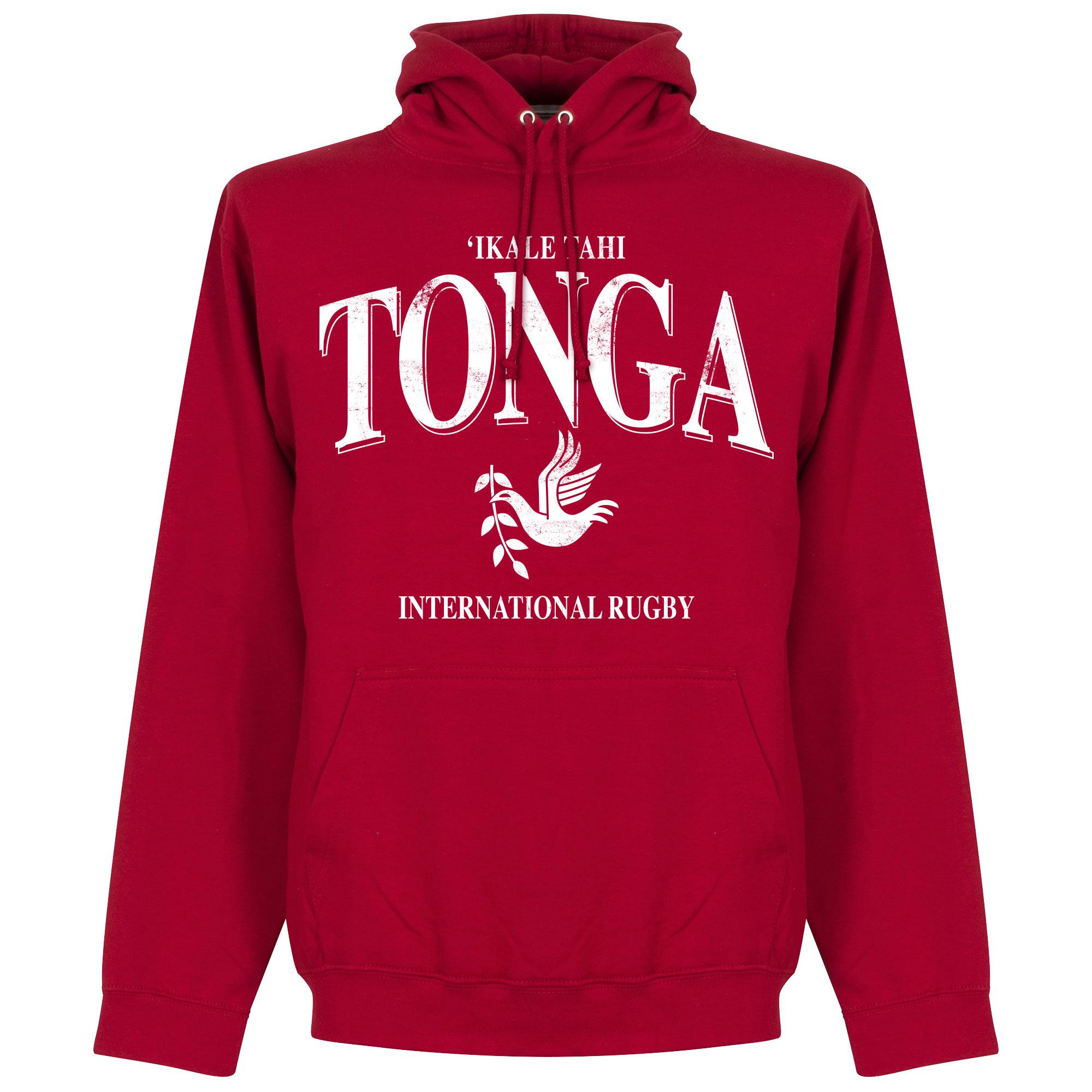 Tonga Rugby Hoodie - Rood