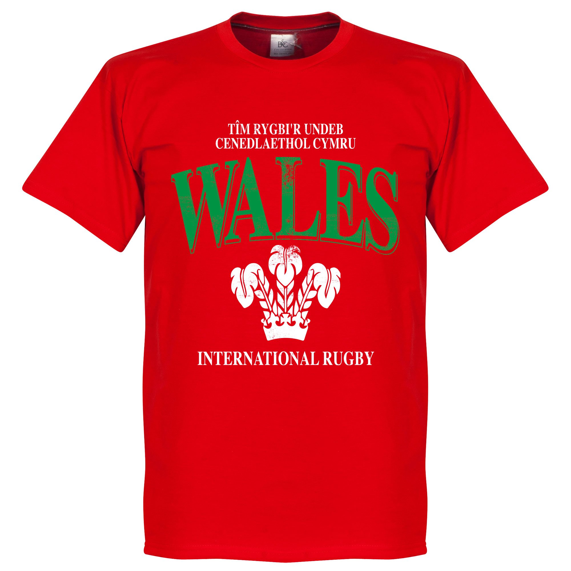 Wales Rugby T-Shirt - Rood