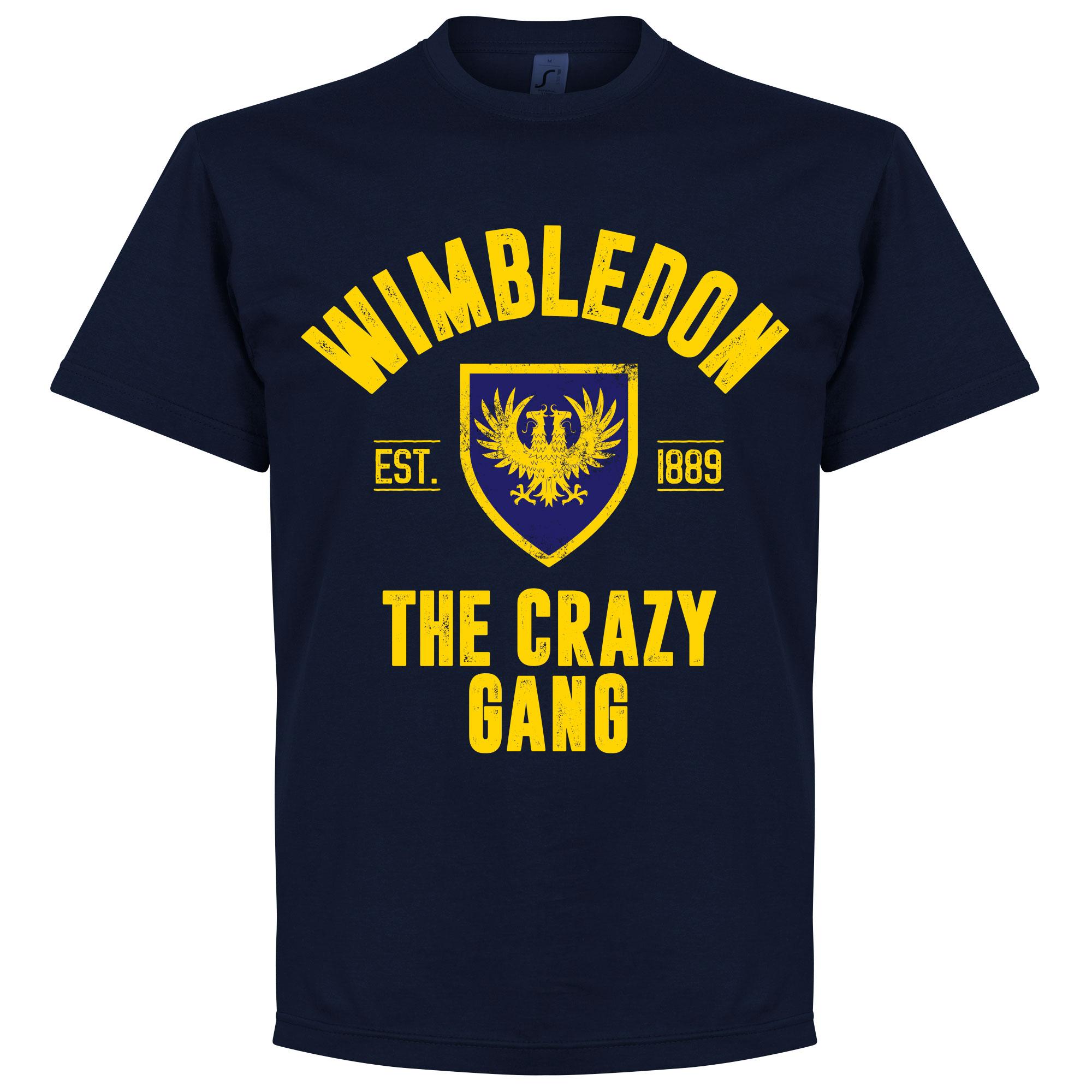 Wimbledon Established T-Shirt - Navy