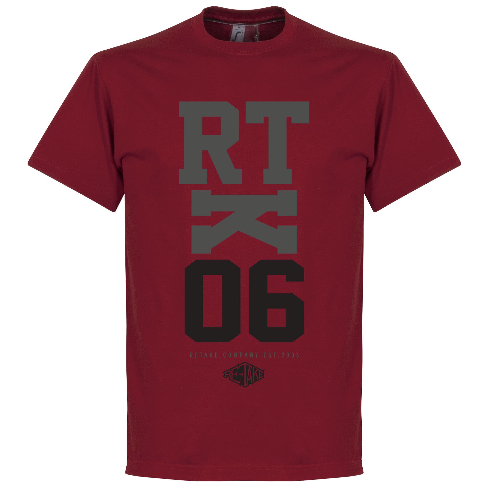 Retake RTK06 T-Shirt – Rood