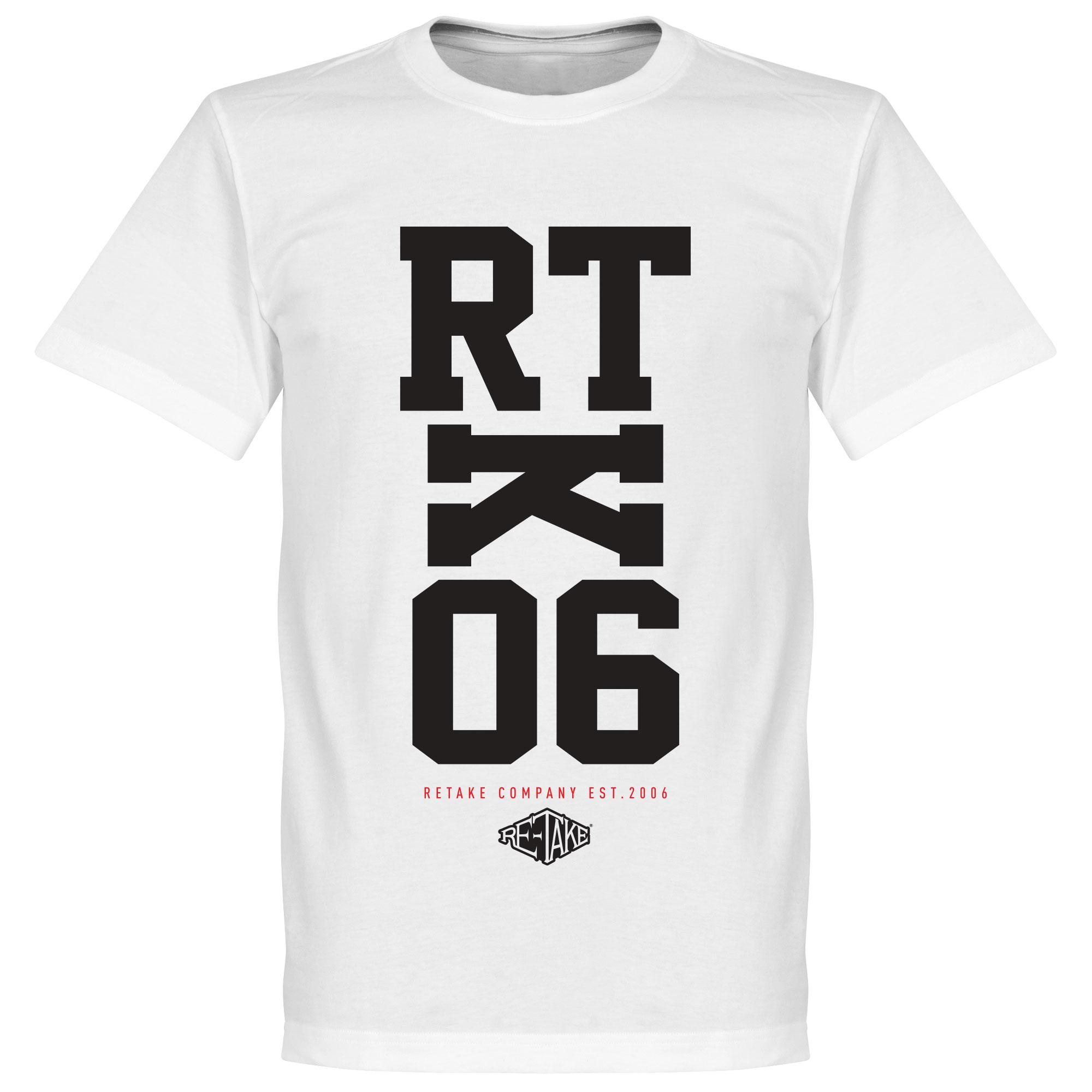 Retake RTK06 T-Shirt – Wit