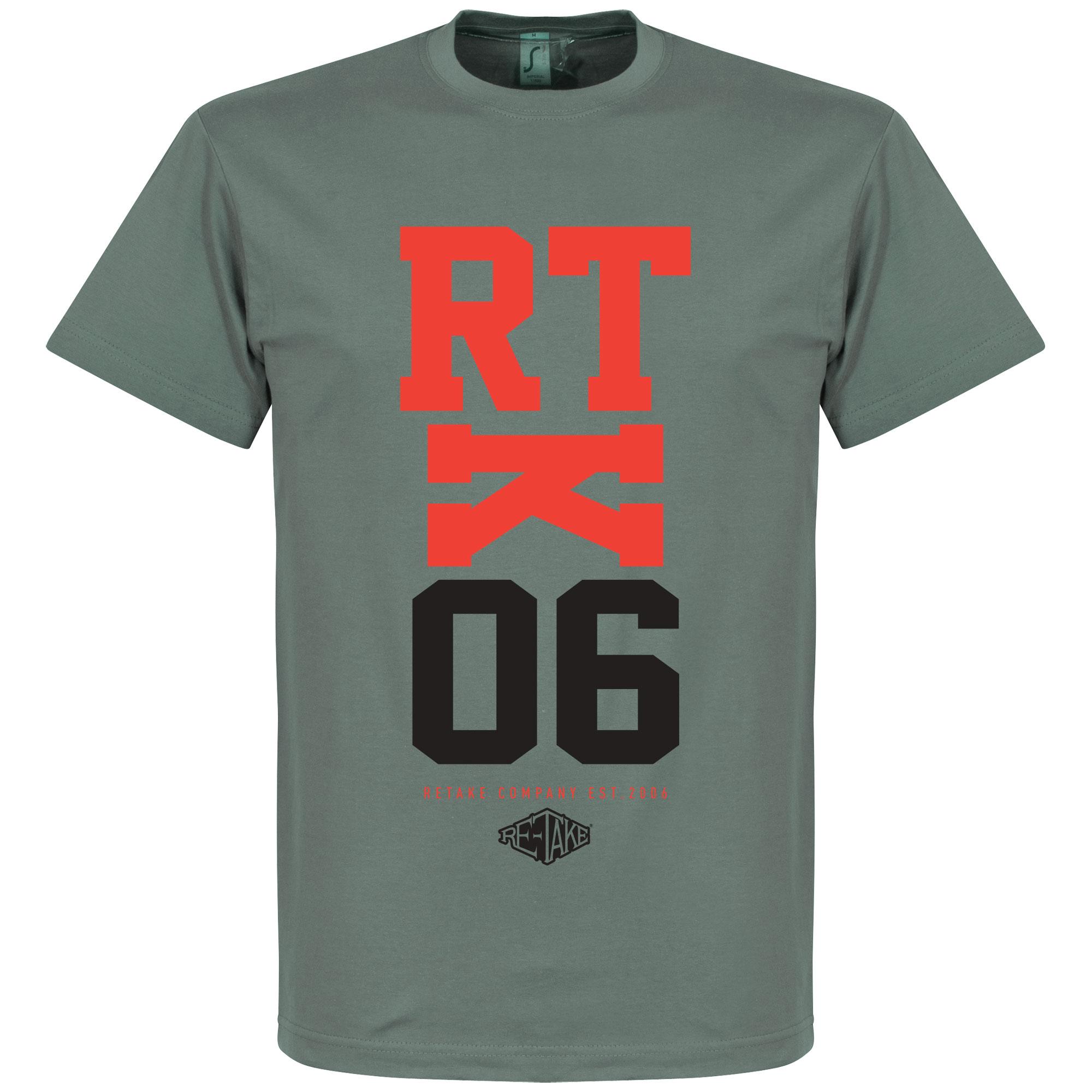 Retake RTK06 T-Shirt – Zink