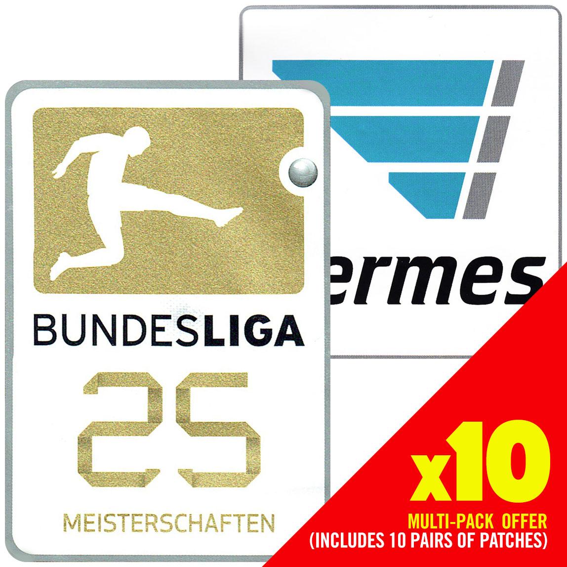 Bundesliga Kampioen & Hermes Badge Set 2016-2017 (Set van 10)
