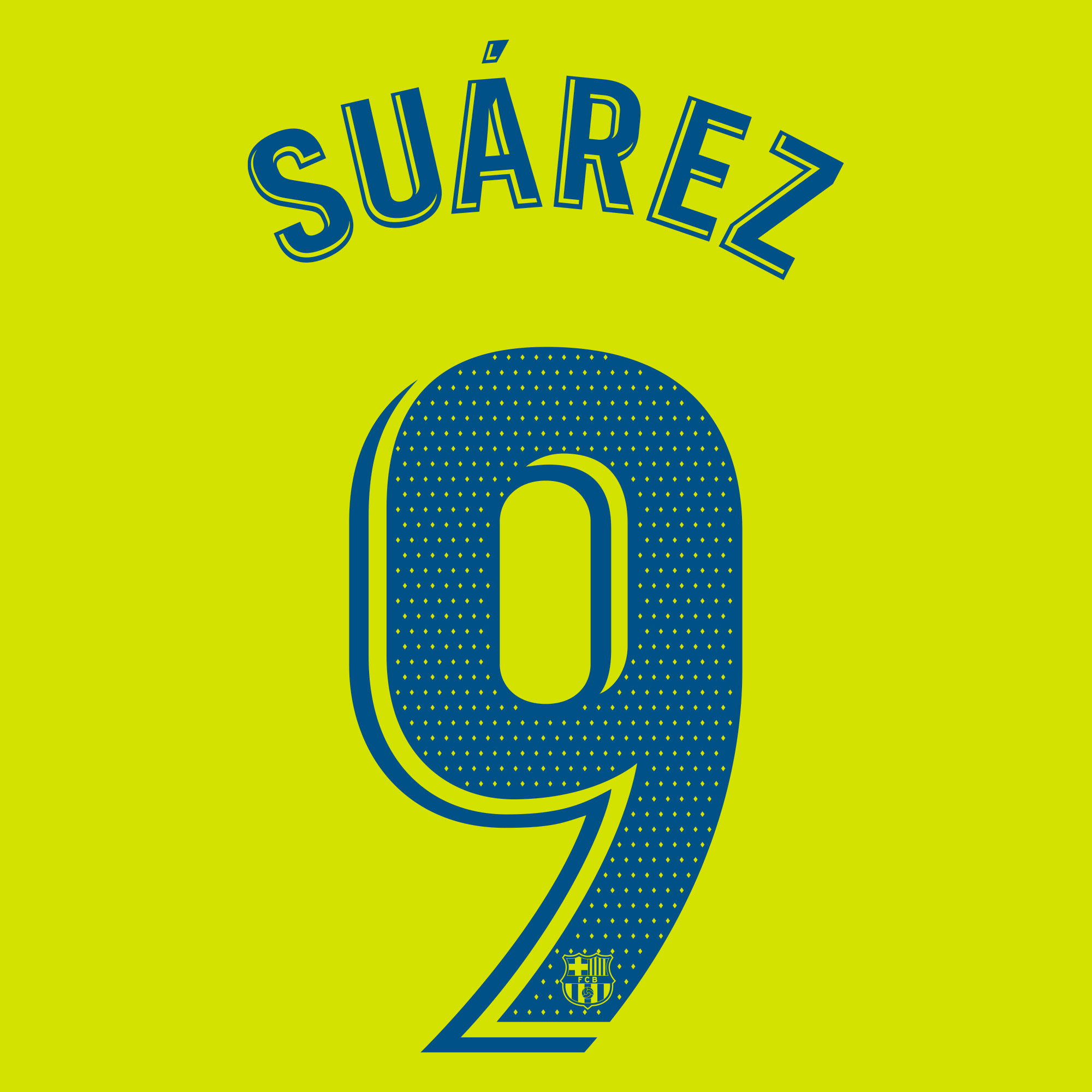 Suarez 9 (Officiele Bedrukking)